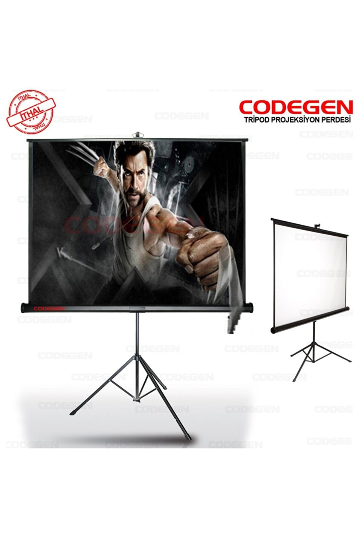 CODEGEN (Tx-20)200x200 Tripod Projeksiyon Perdesi