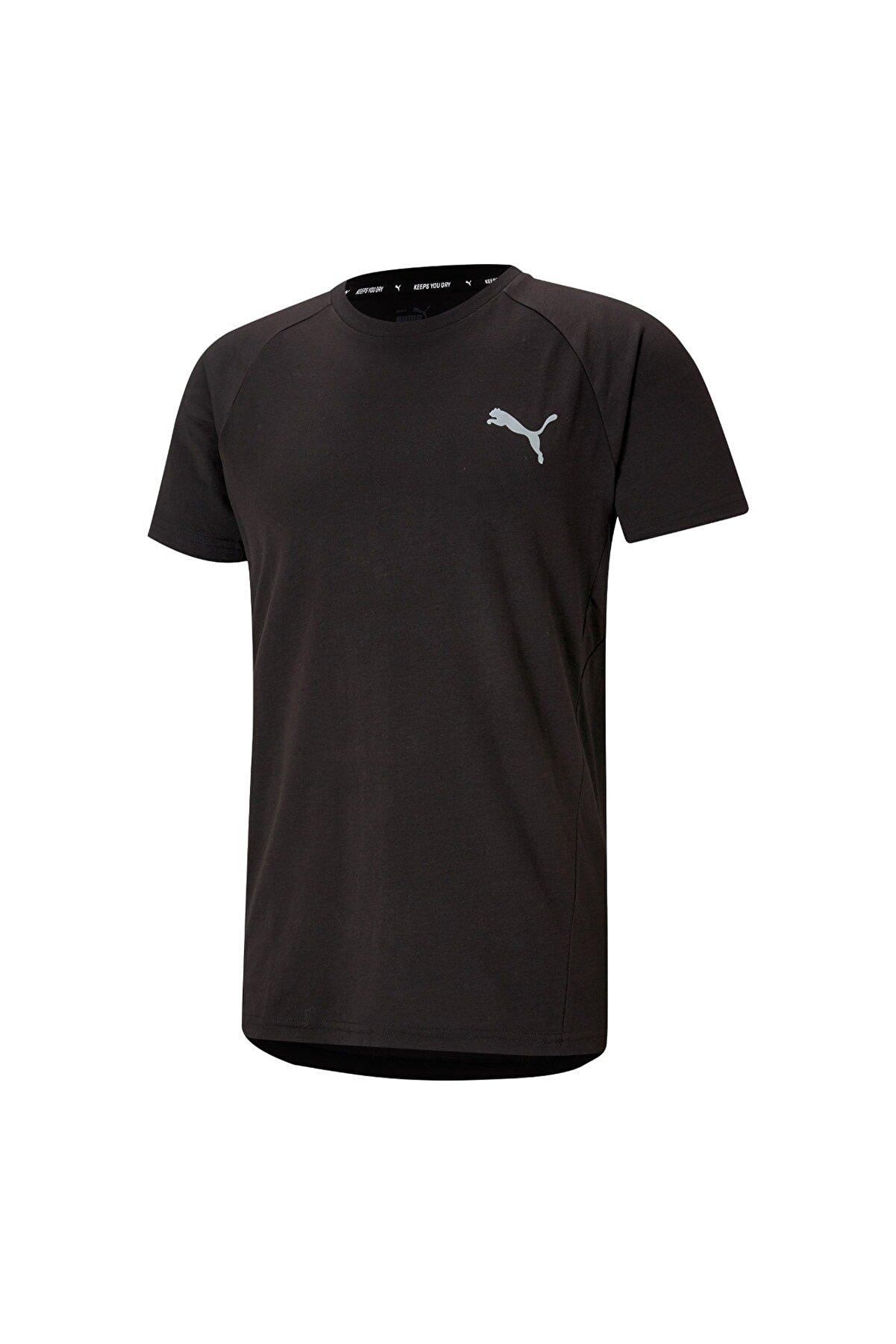 Puma EVOSTRIPE TEE Siyah Erkek T-Shirt 101085385