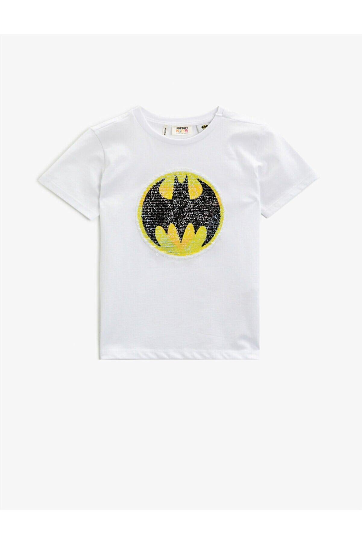 Koton Erkek Çocuk Beyaz T-Shirt