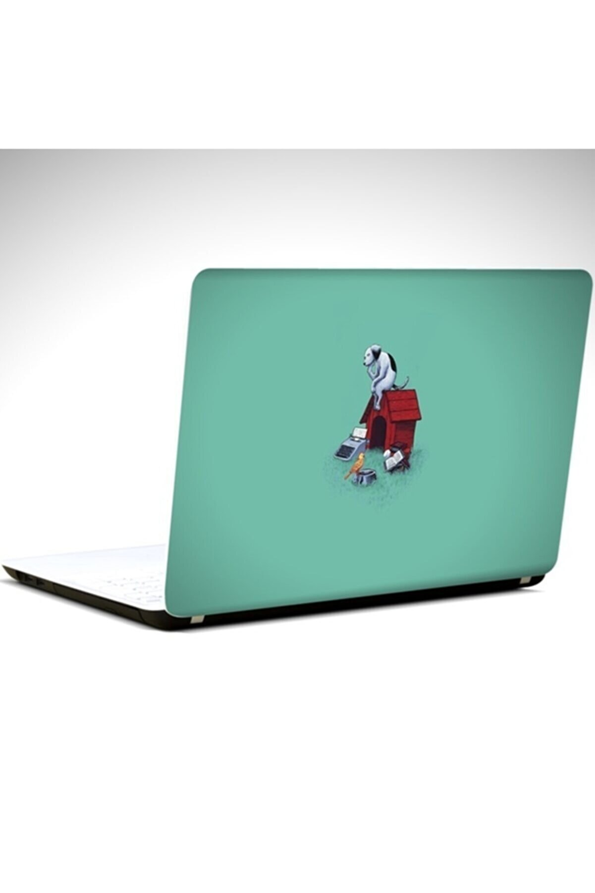 Dekolata Köpek Laptop Sticker 19 Inch (40,5x27 cm)