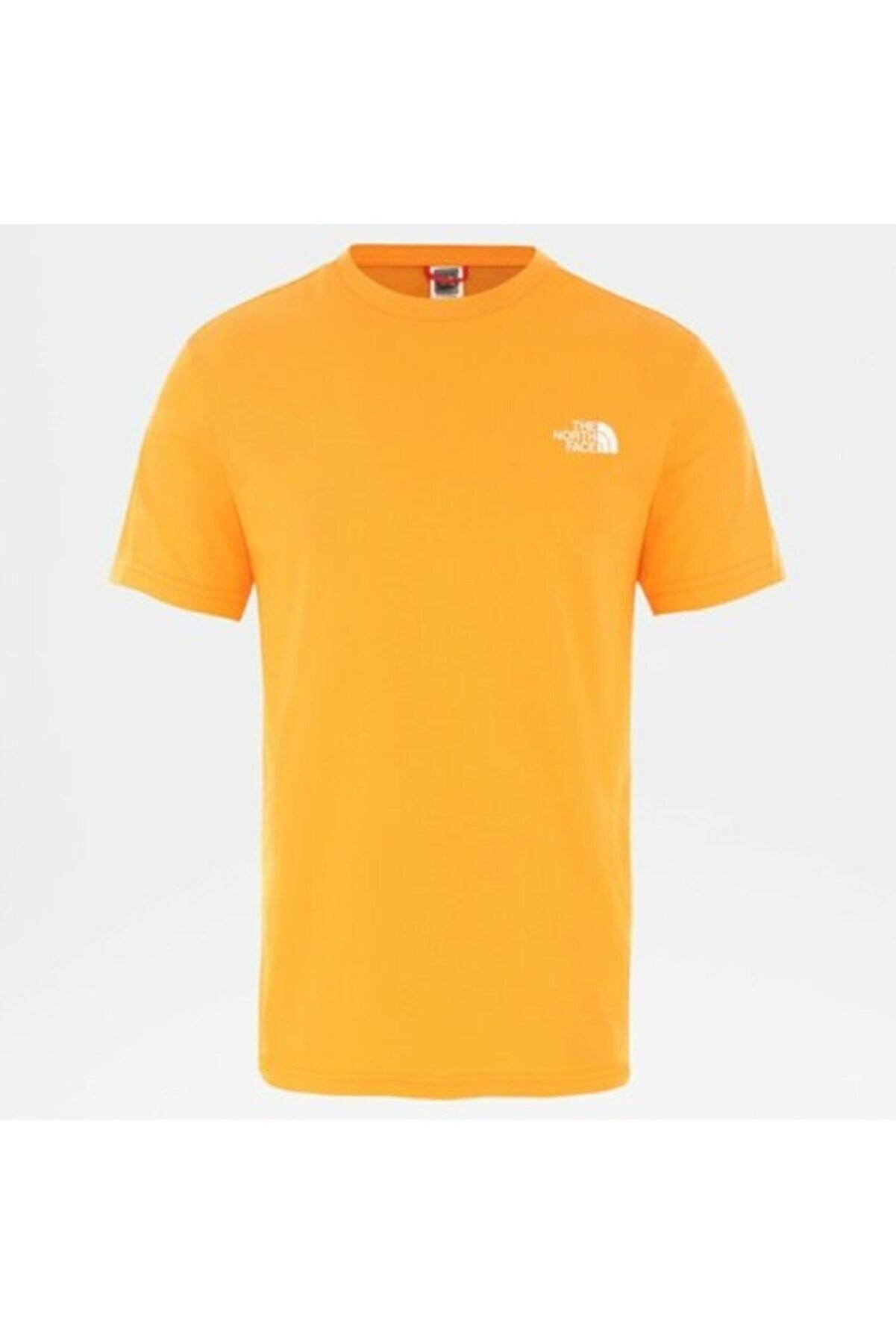 The North Face M Ss Simple Dome Tee Flame Nf0a2tx5ecl1