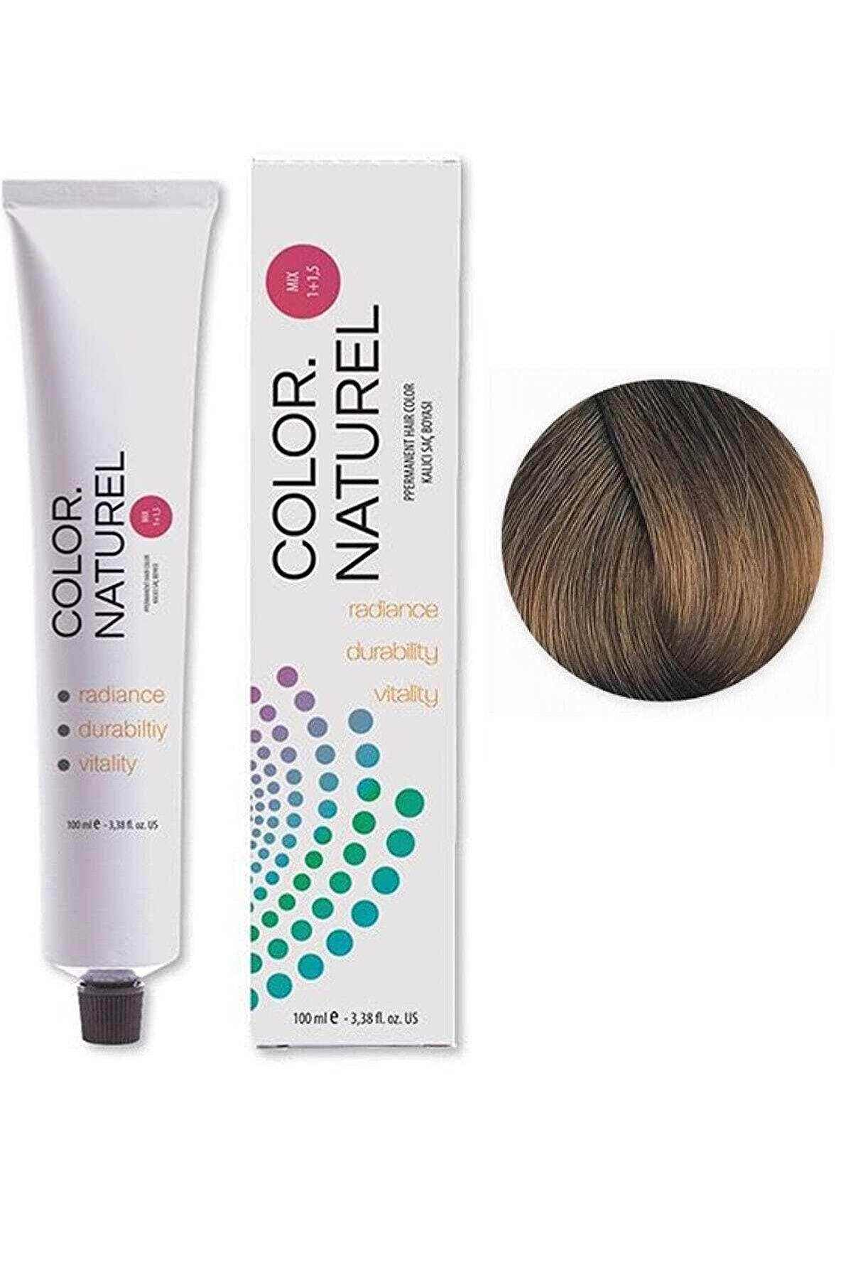 Color Naturel Saç Boyası 8.0 Açık Kumral 100 ml
