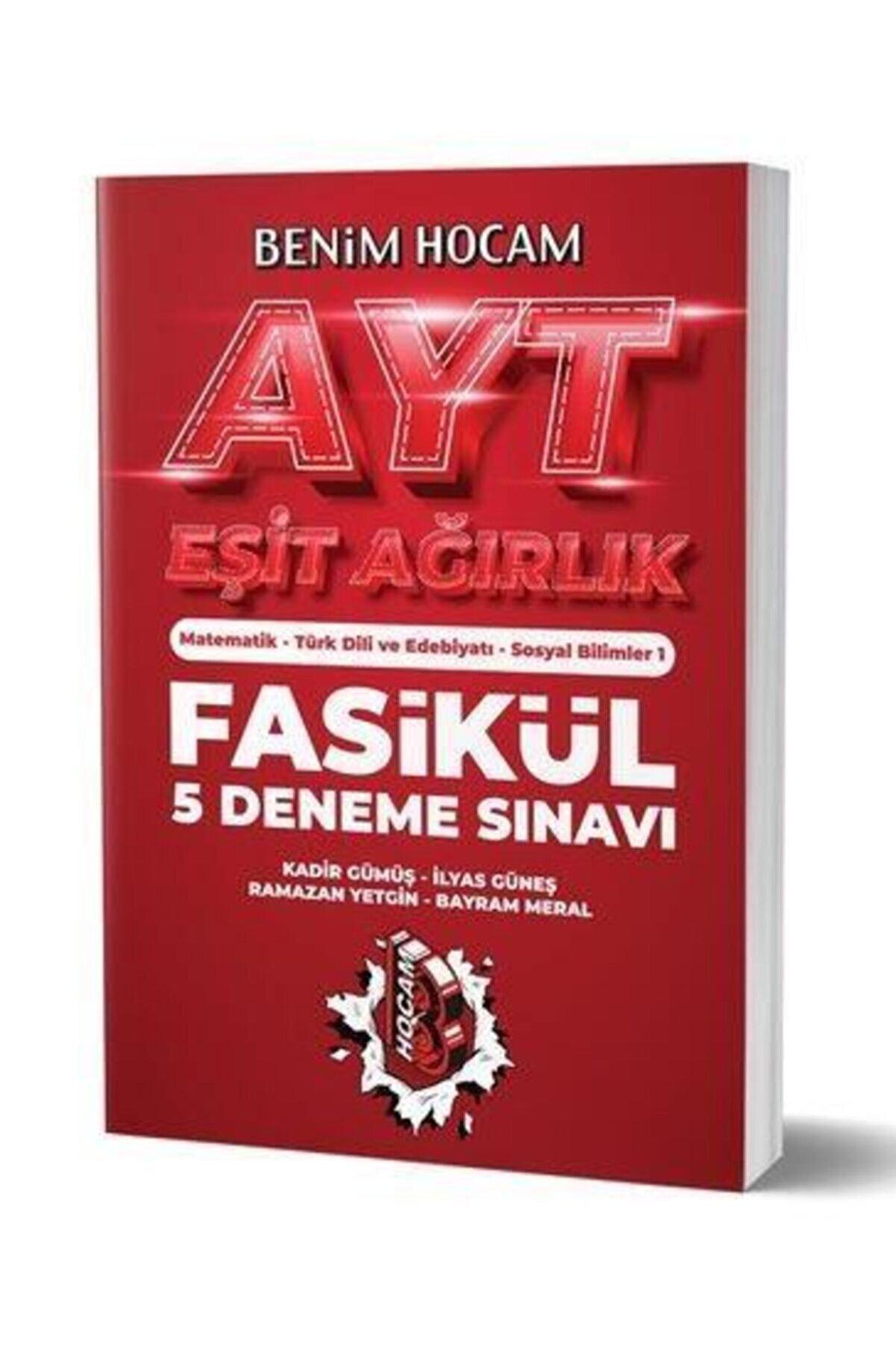 Benim Hocam Yayınları Ayt Eşit Ağırlık 5 Fasikül Deneme Sınavı