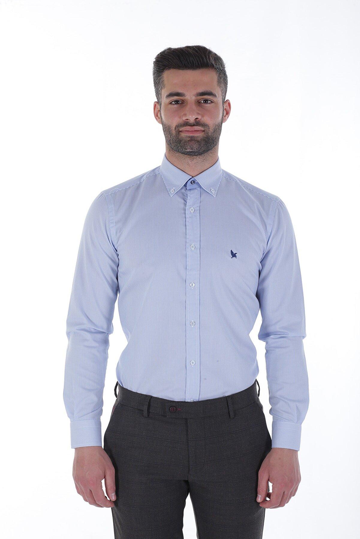 Diandor Uzun Kollu Erkek Gömlek V1 1912013