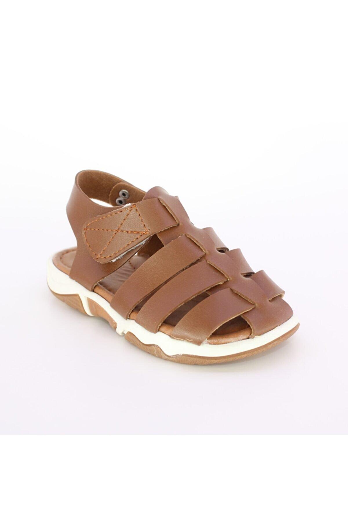 Miss Junior Yazlık Anatomik Suni Deri Rahat Unisex Çocuk Sandalet