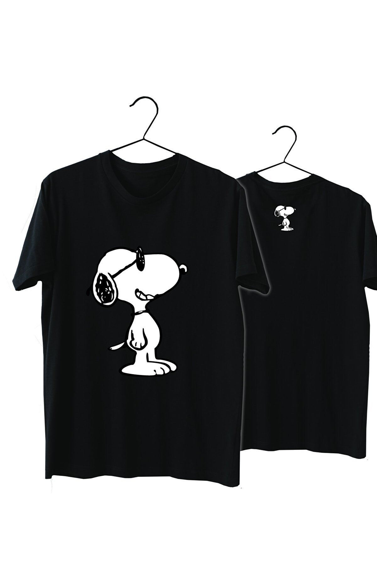 VectorWear Snoopy %100 Pamuk Normal Kalıp Tshirt