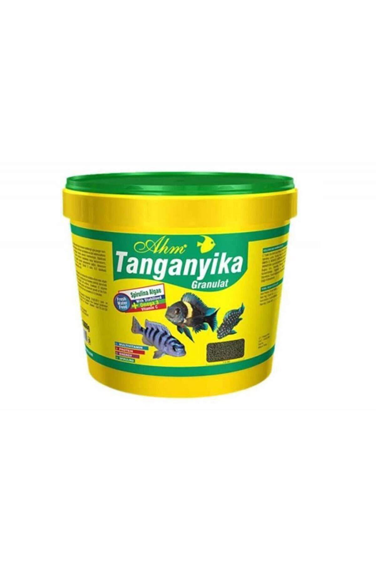 Ahm Tanganyika Green Granul Bitkisel Ciklet Balığı Yemi 3 kg