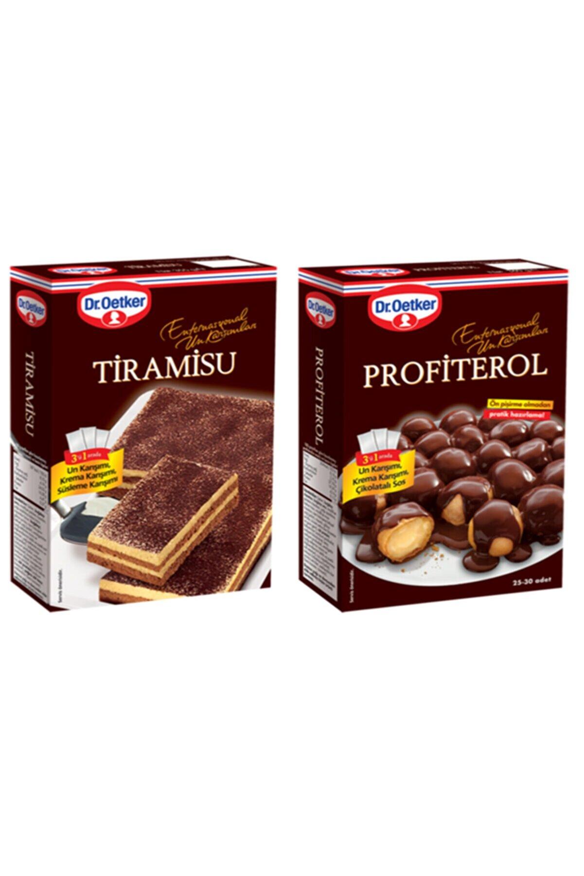 Dr. Oetker Tiramisu Ve Profiterol Paketi