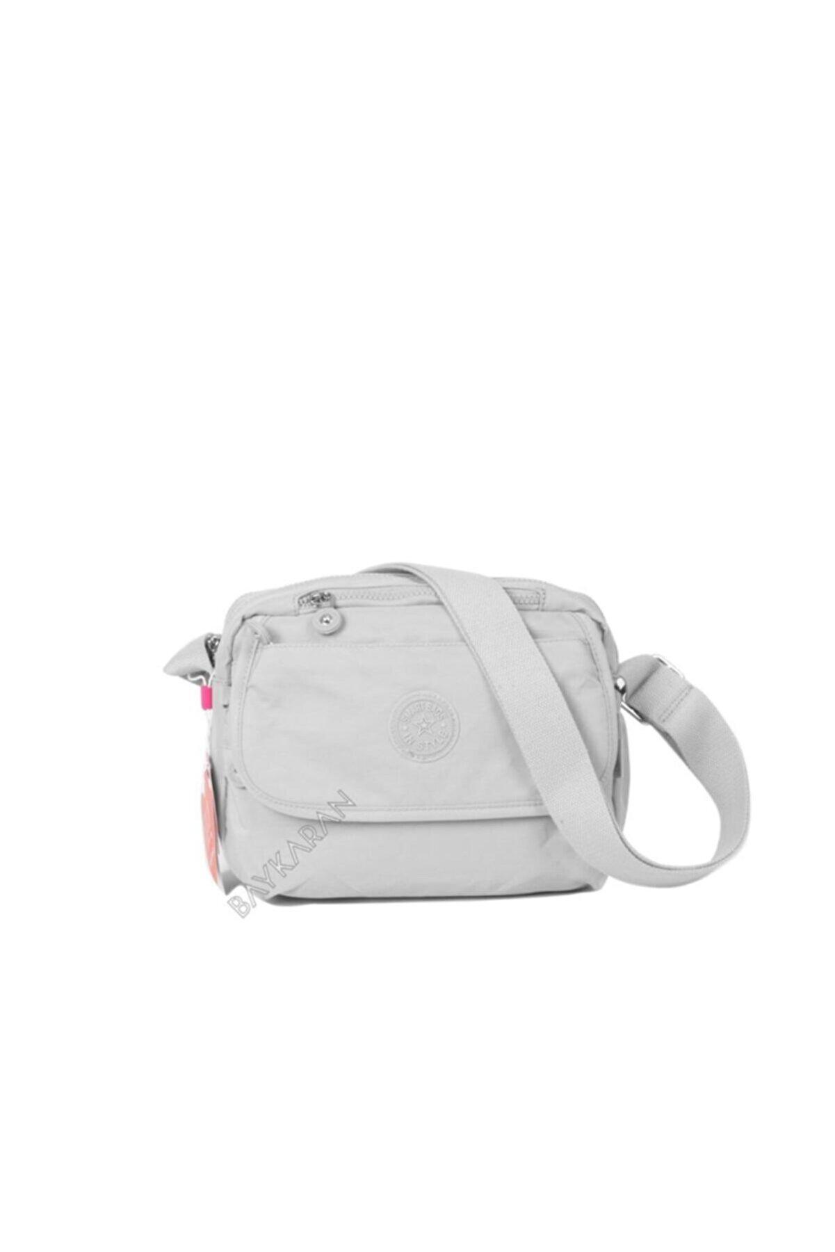 Smart Bags Smb1172-0083 Ice Gri Kadın Çapraz Çanta