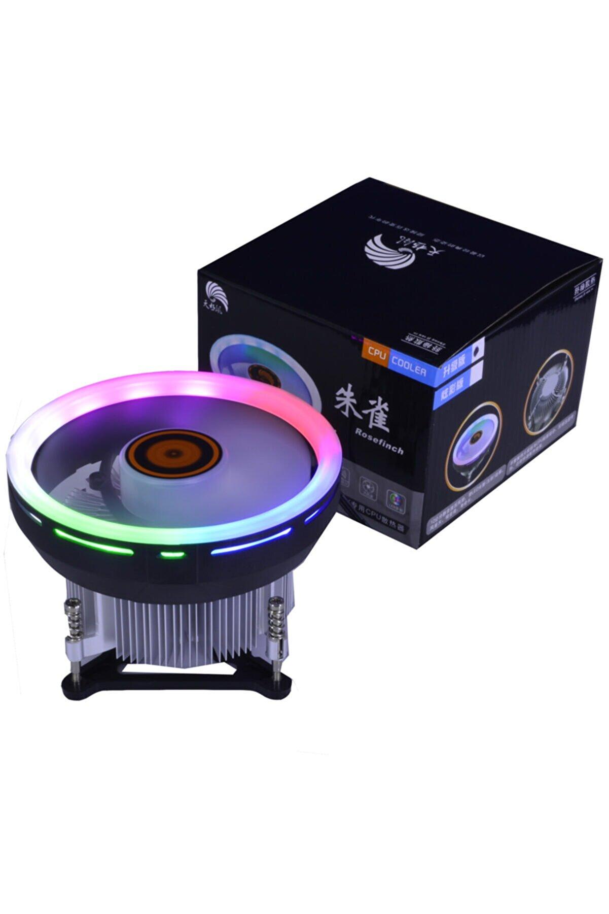 kervansanal Asura Intel I3/i5/i7 1150/1151/1155/1156 Uyumlu Rgb Işıklı Fan