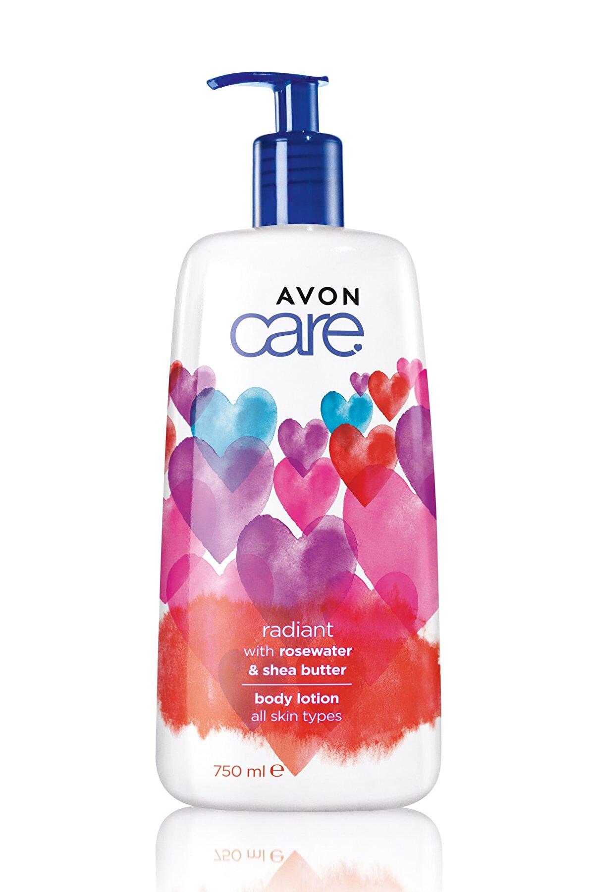 Avon Care Sevgililer Günü Tasarımlı Gül Suyu Içeren Vücut Losyonu - 750ml