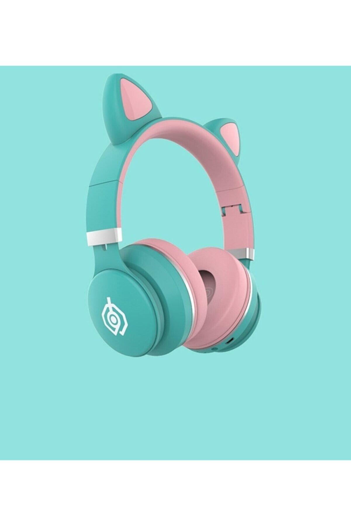 T G Kablosuz Bluetooth 5.0 Stereo Yüksek Ses Akıllı Renkli LED Kulaklık