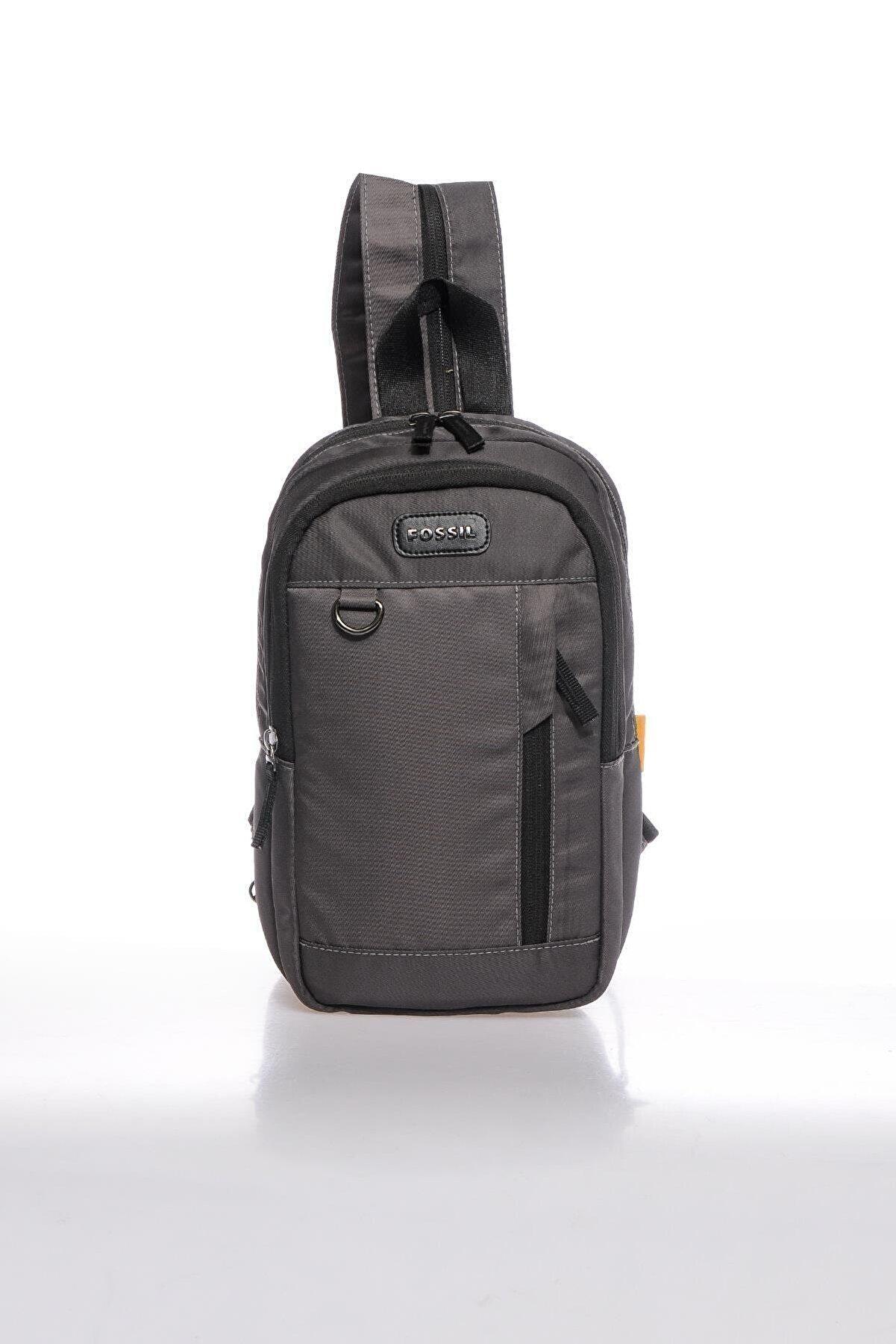 Fossil Fscr065292 Gri Unısex Body Bag