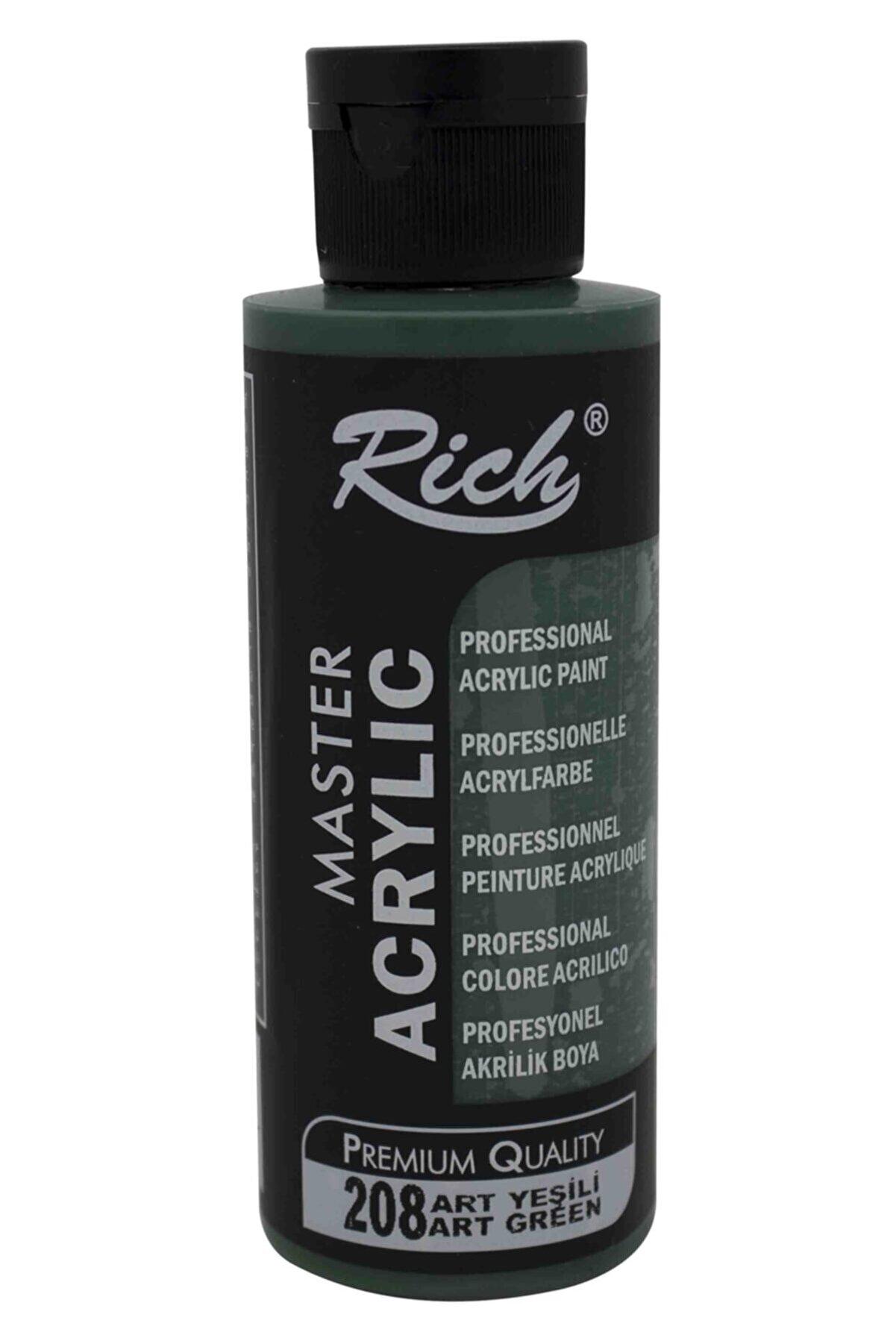 Rich Master Akrilik Boya 120 Cc Art Yeşili