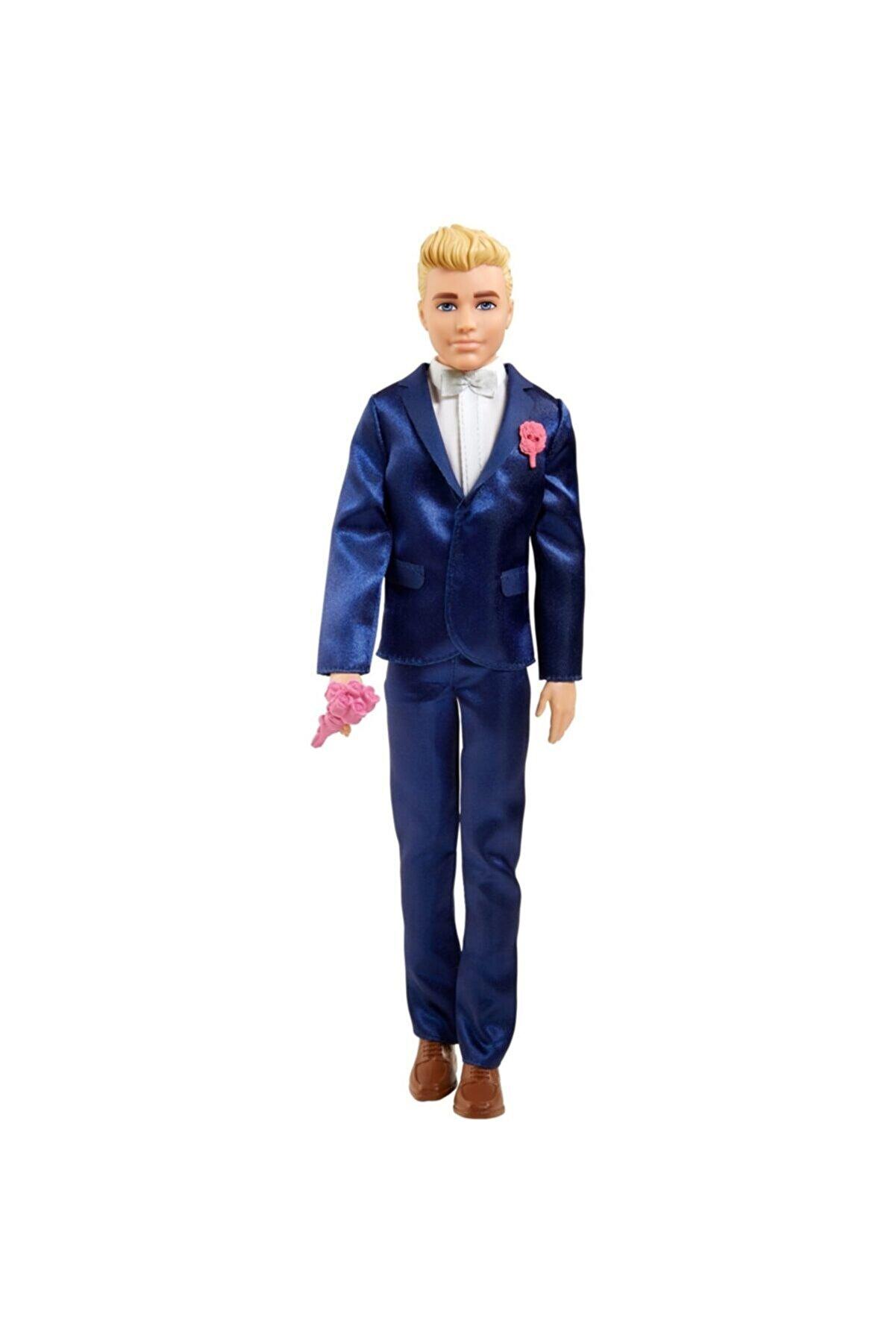 Barbie Orjinal Damat Ken Bebek Takım Elbiseli Ken Damat Bebek Gtf36