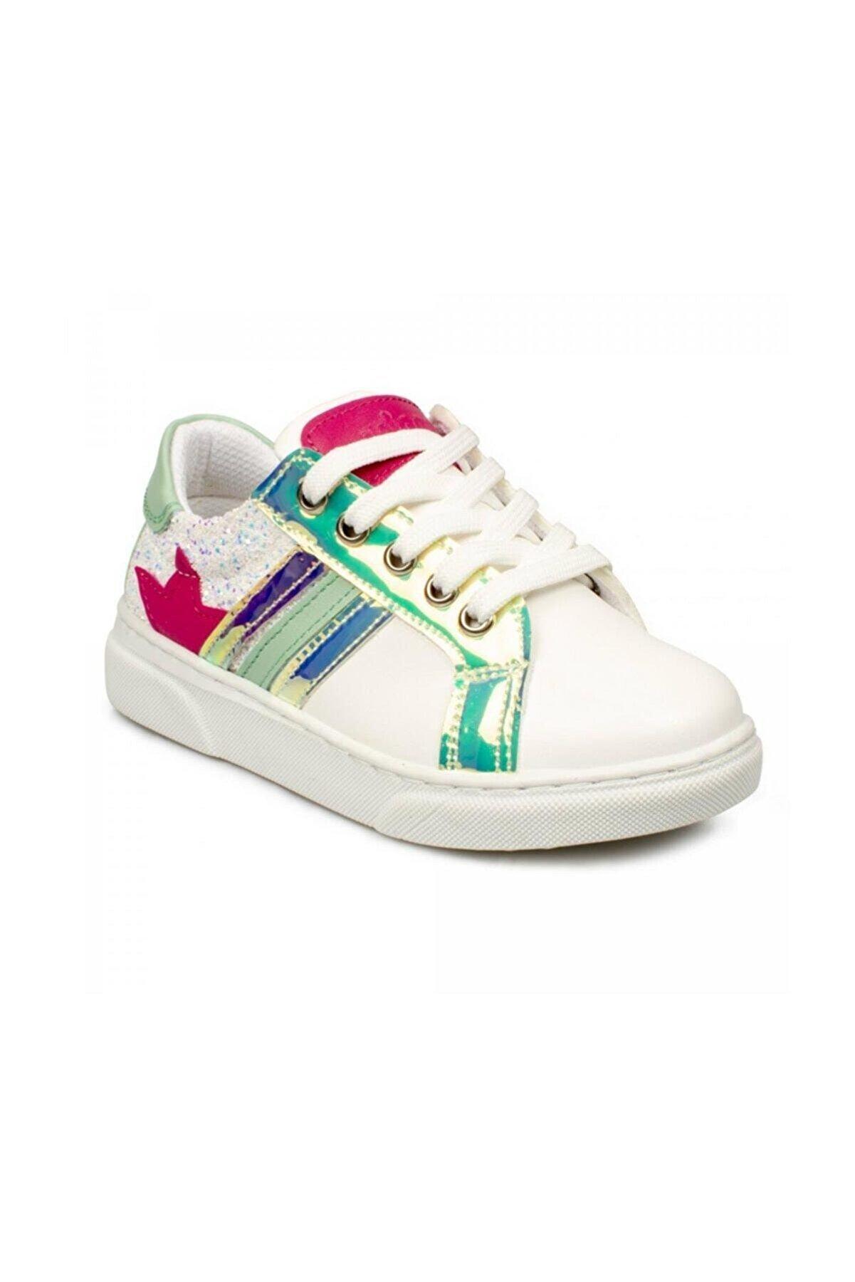 Vicco Kız Çocuk Beyaz  Filet Ayakkabı Sneaker