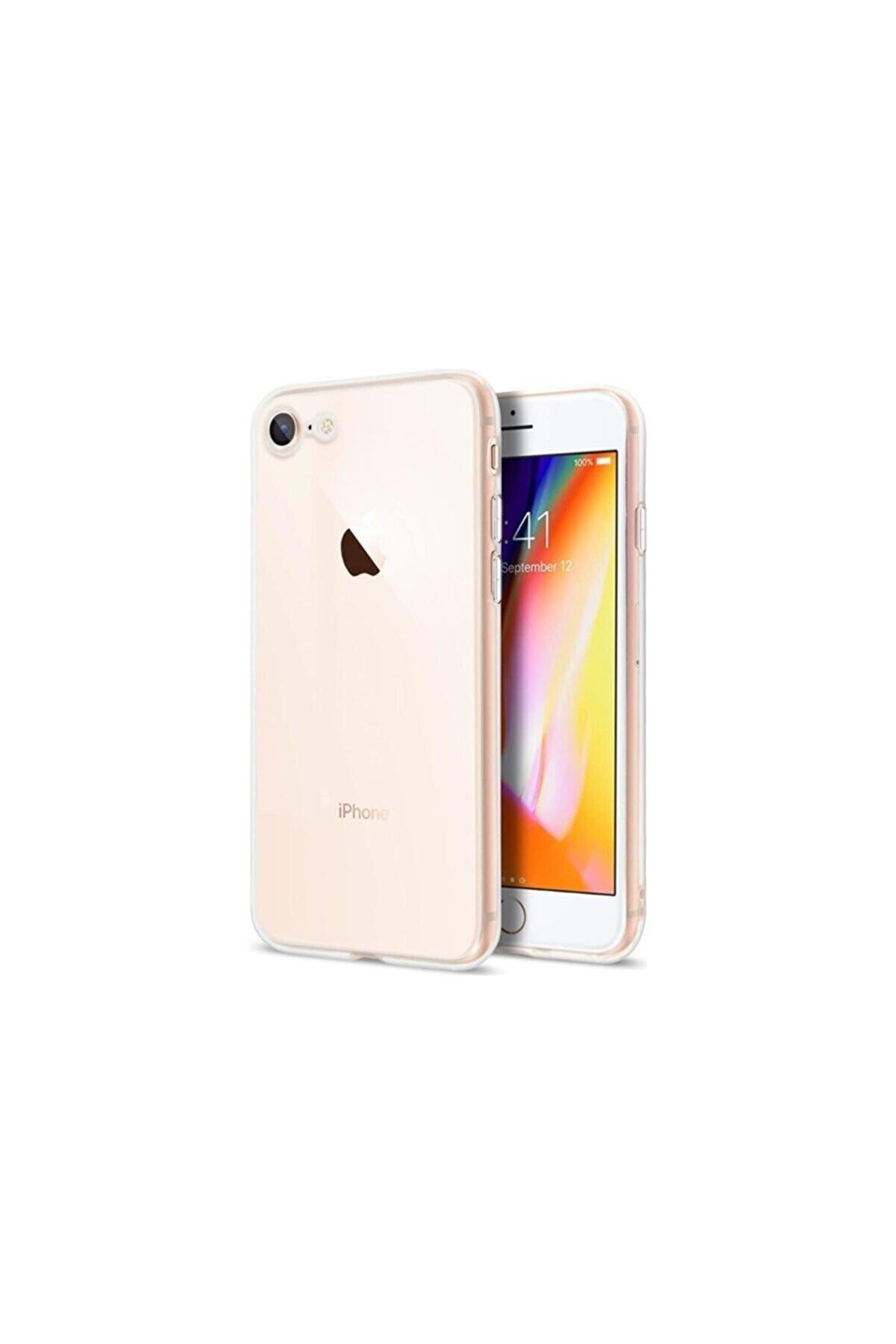 Fibaks Iphone Se 2020 Uyumlu Silikon Kılıf Ve Ekran Koruyucu Cam
