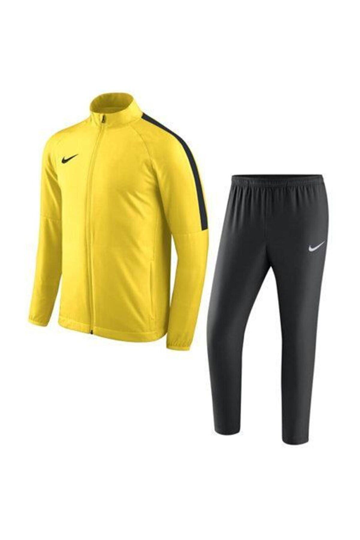 Nike Erkek Sarı M Dry Academy18 Trk Suit W  Eşofman Takımı 893709