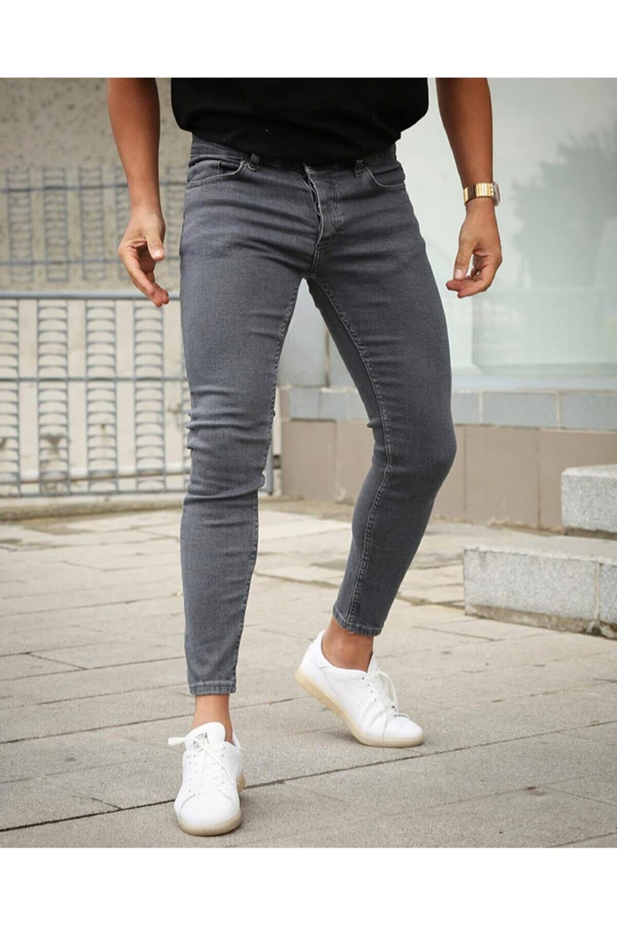 ukdwear Slim Fit Kesim Kot Pantolon