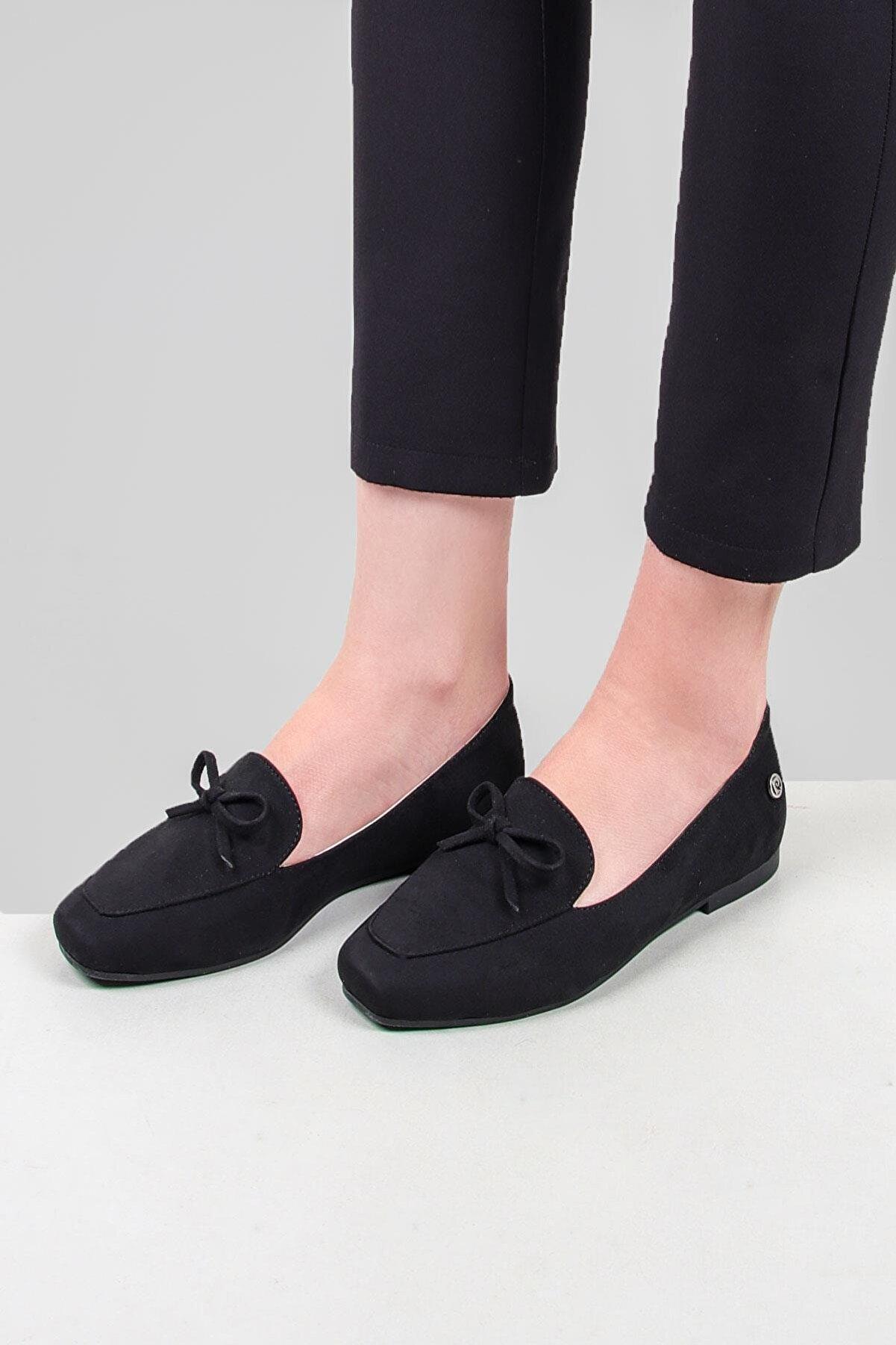 Pierre Cardin Kadın Süet Casual Ayakkabi
