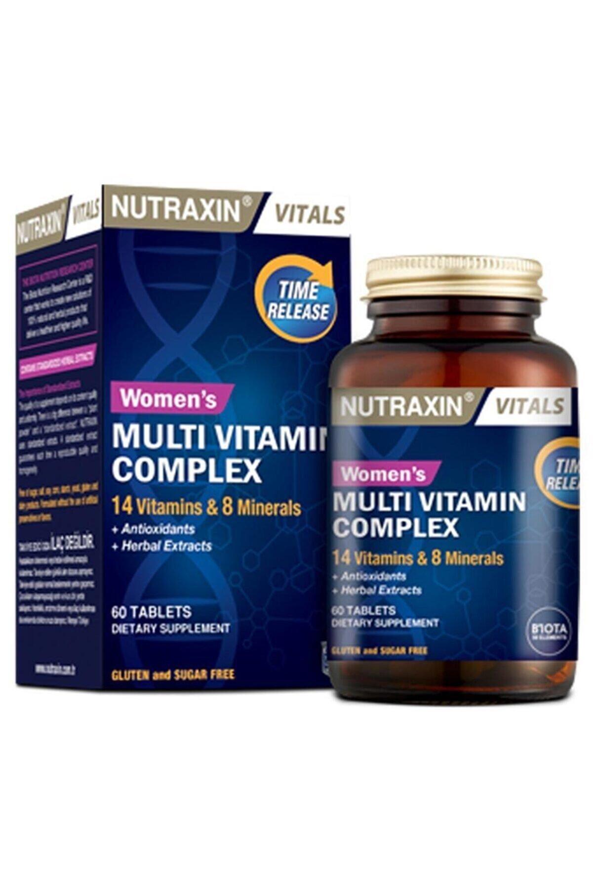 Nutraxin Womens  Multivitamin Mineral Complex 60 Tablet