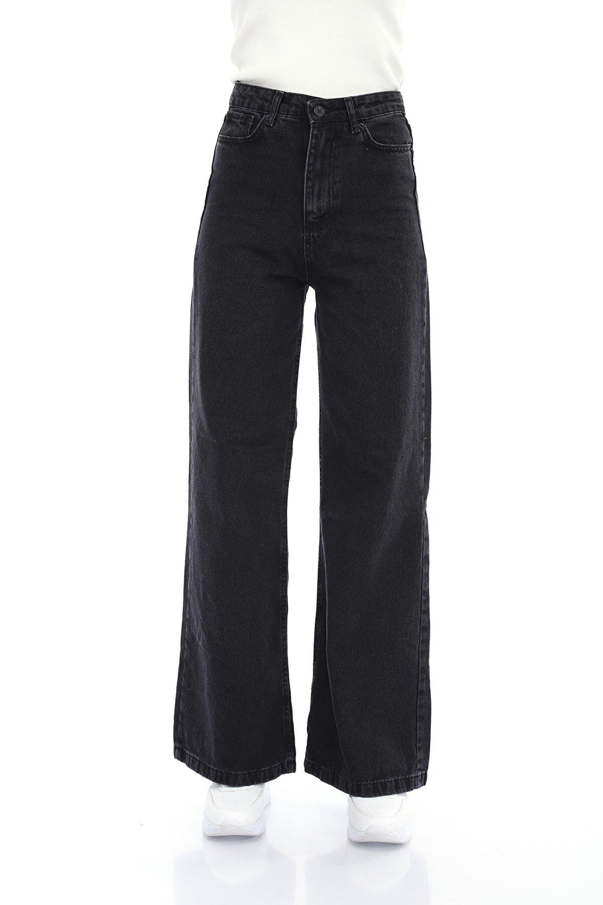 Meissa Füme Bol Paça Jeans
