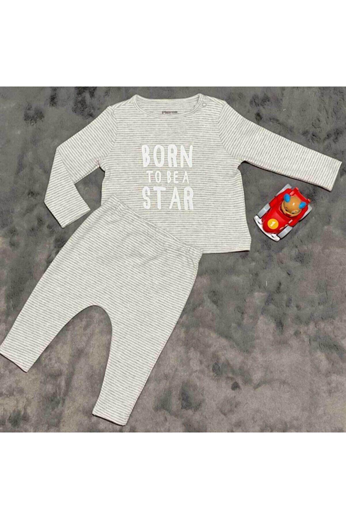 PİEROSBABY Pieros Baby 0020 Erkek Bebek 2'li Takım