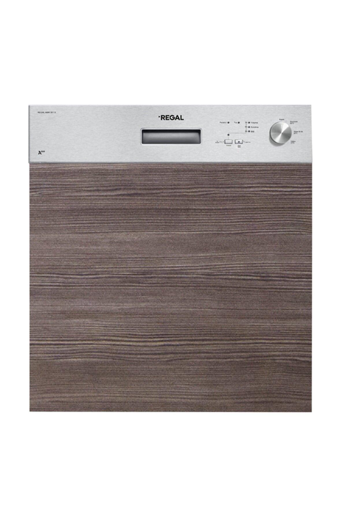 Regal ABM 301 X A++ 3 Programlı Inox Ankastre Bulaşık Makinesi