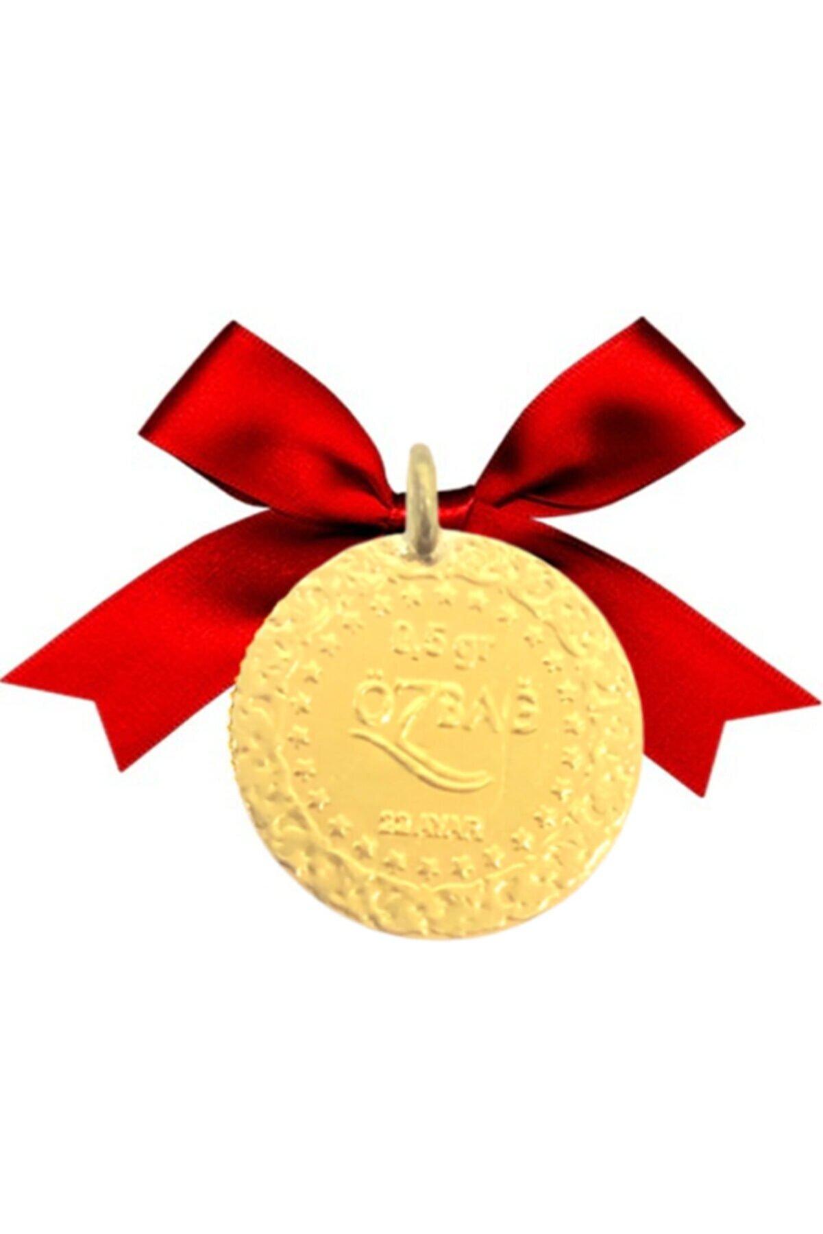 Özbağ 0,5 gram 22 Ayar Kulplu Altın