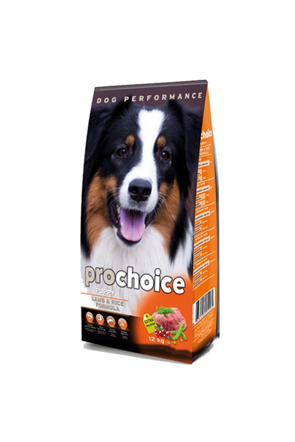 Pro Choice Puppy Lamb Kuzu Etli Yavru Köpek Maması 12 kg