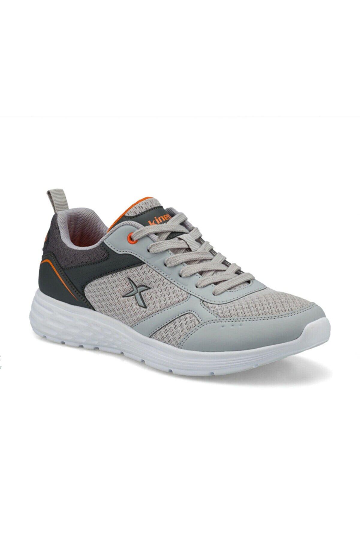 Kinetix Kadın Gri Yürüyüş Spor Ayakkabı