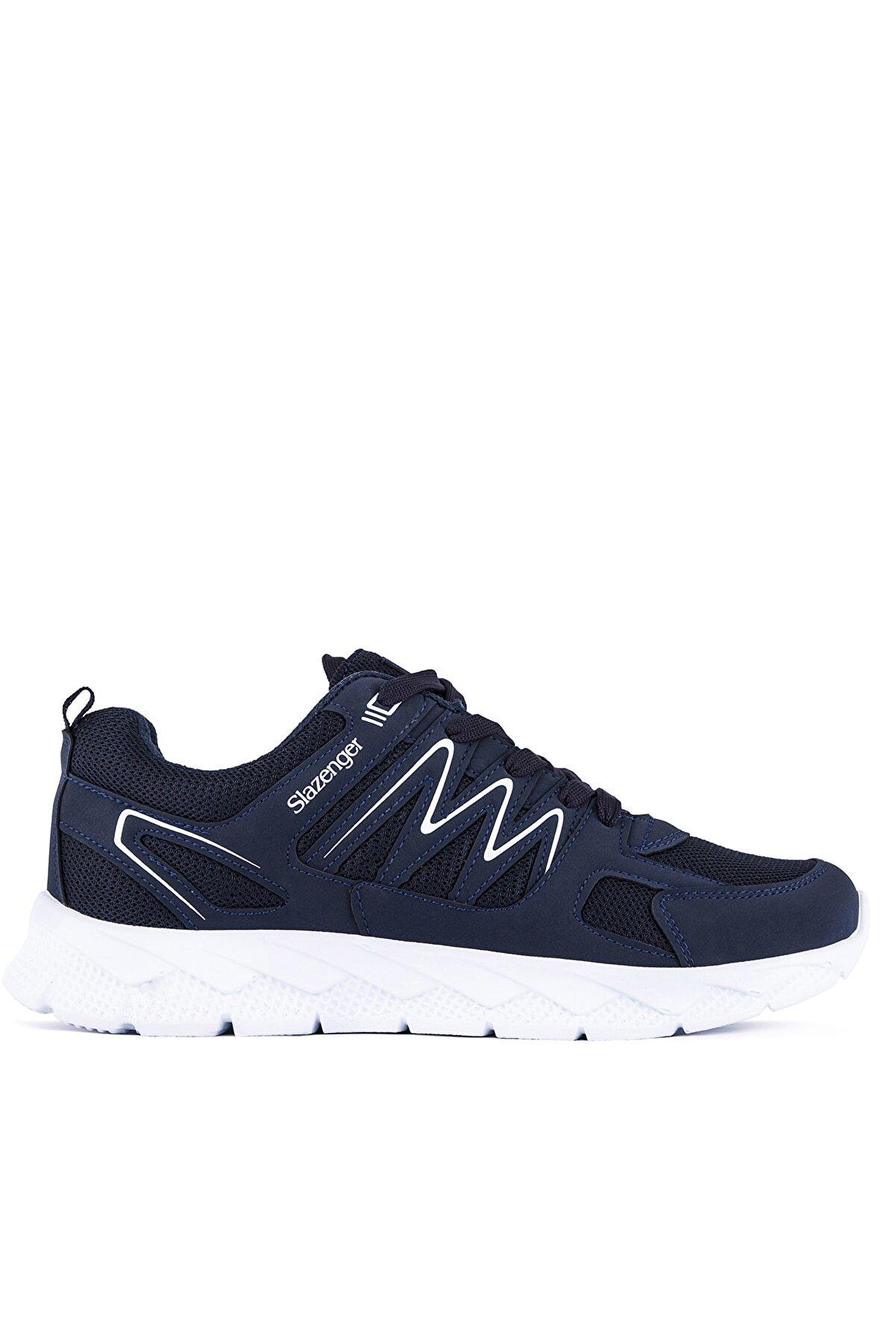 Slazenger Krom Sneaker Unisex Ayakkabı Lacivert Sa11re240