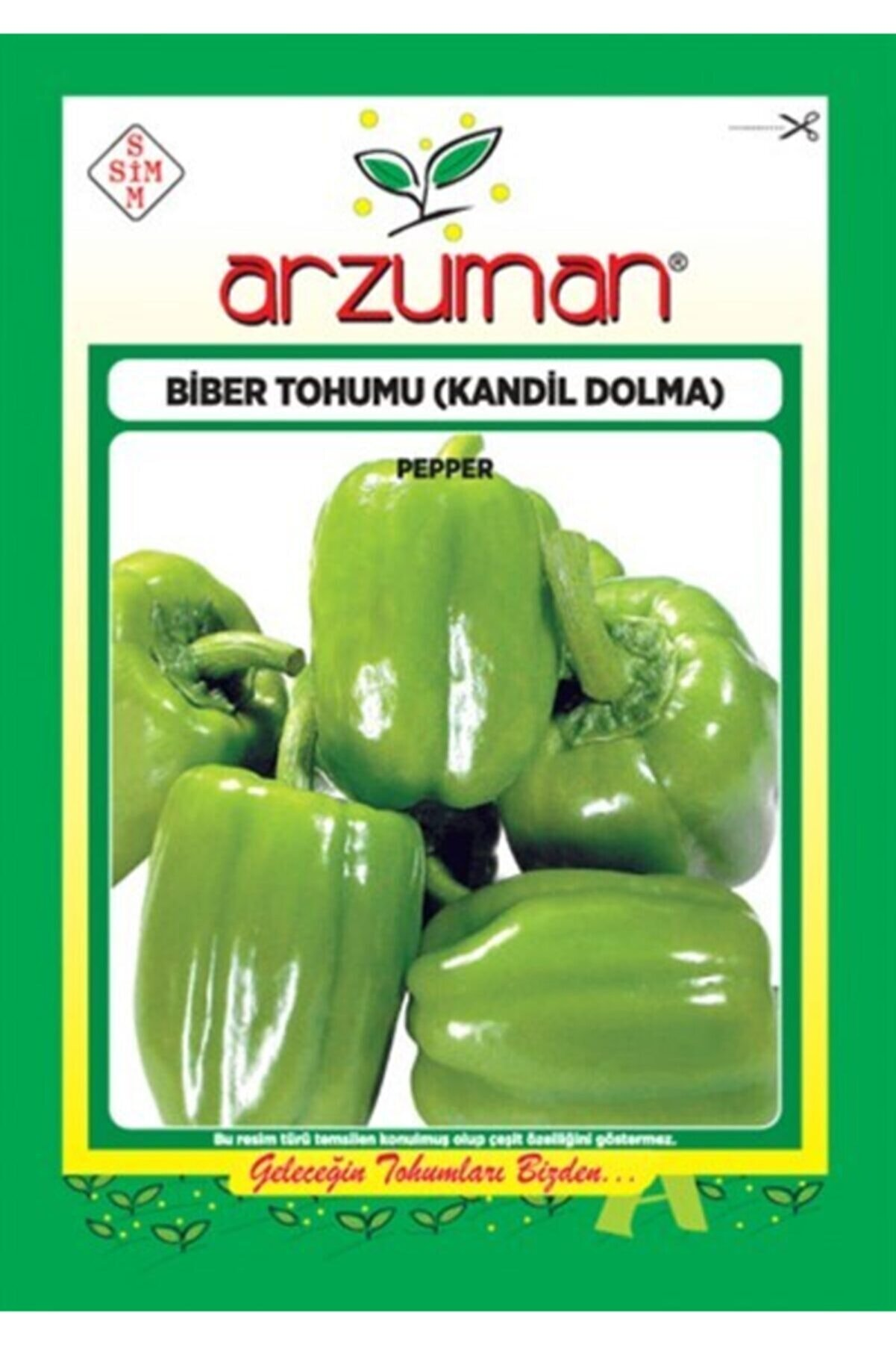 Arzuman Kandil Dolma Biber Tohumu 10 Gr