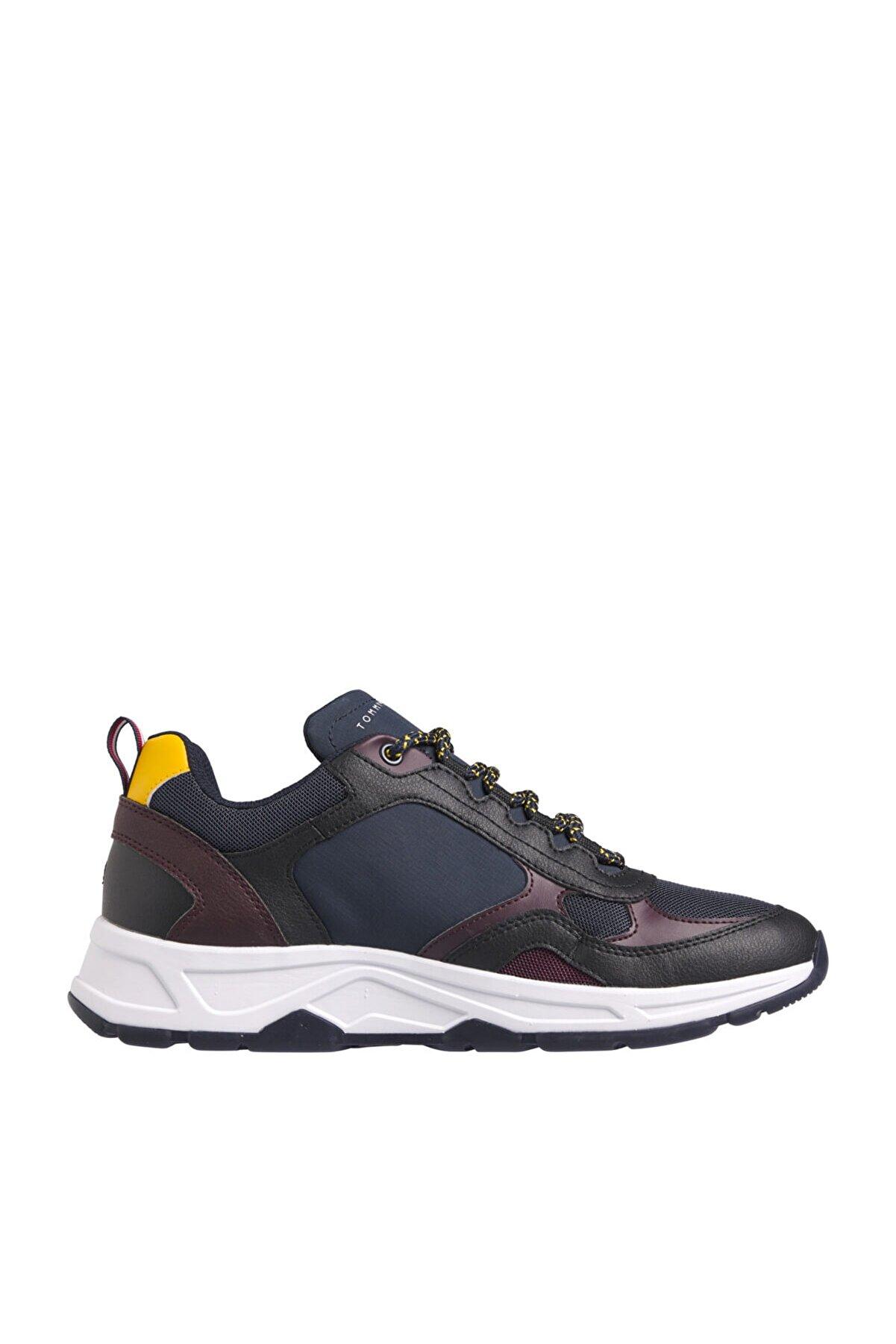 Tommy Hilfiger Erkek Mavi Sneaker Fashıon Mıx Sneaker FM0FM03083