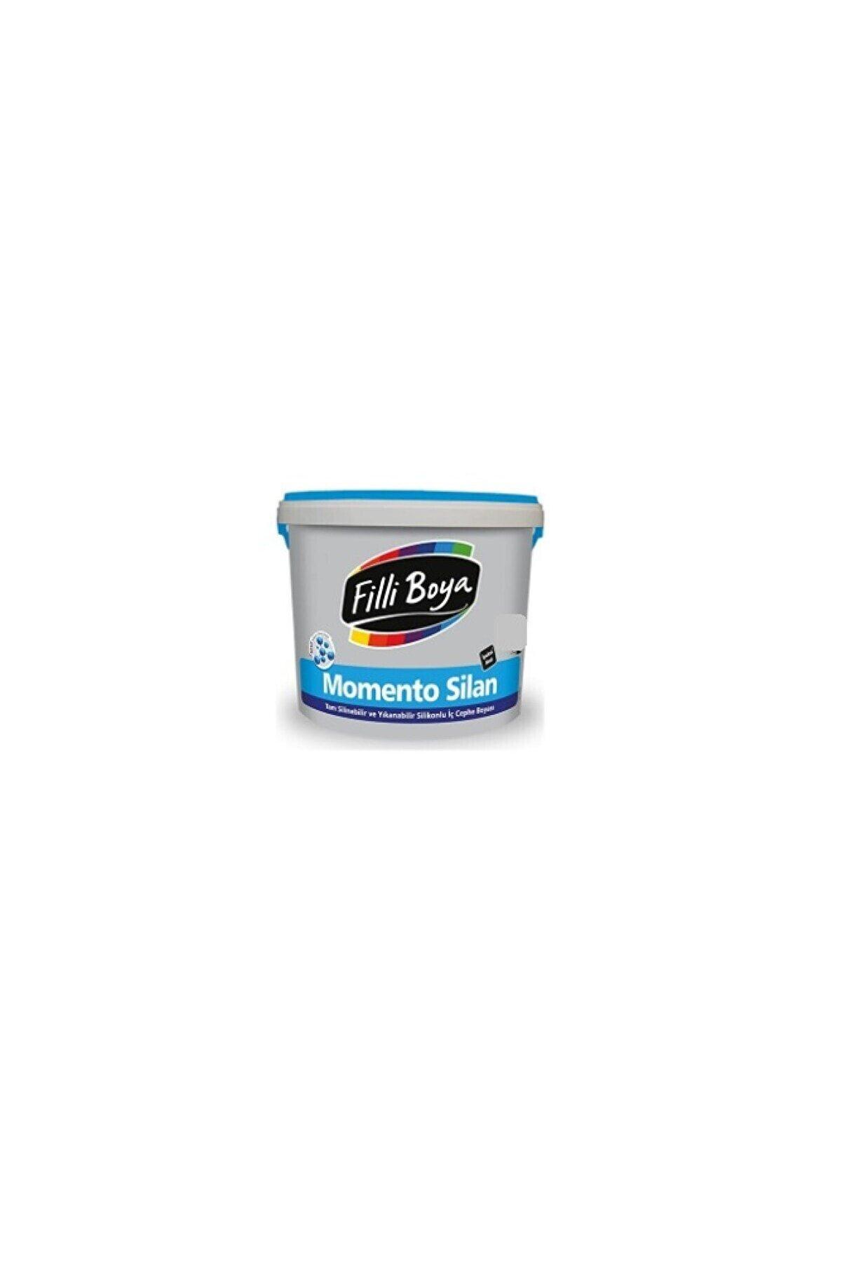 Filli Boya Momento Silan 2.5lt Renk:beyaz Ipeksi Mat Tam Silinebilir Iç Cephe Boyası