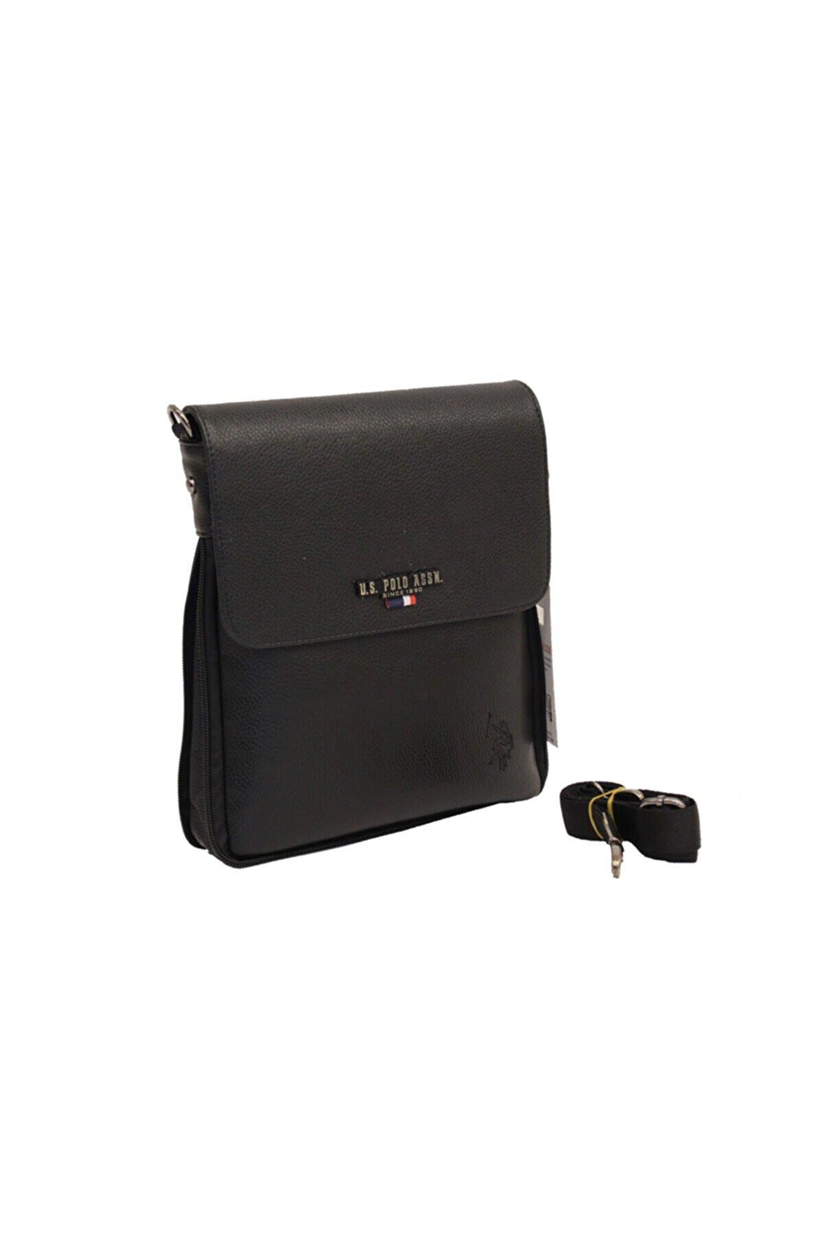 US Polo Assn Siyah Erkek Laptop & Evrak Çantası 8681379483797