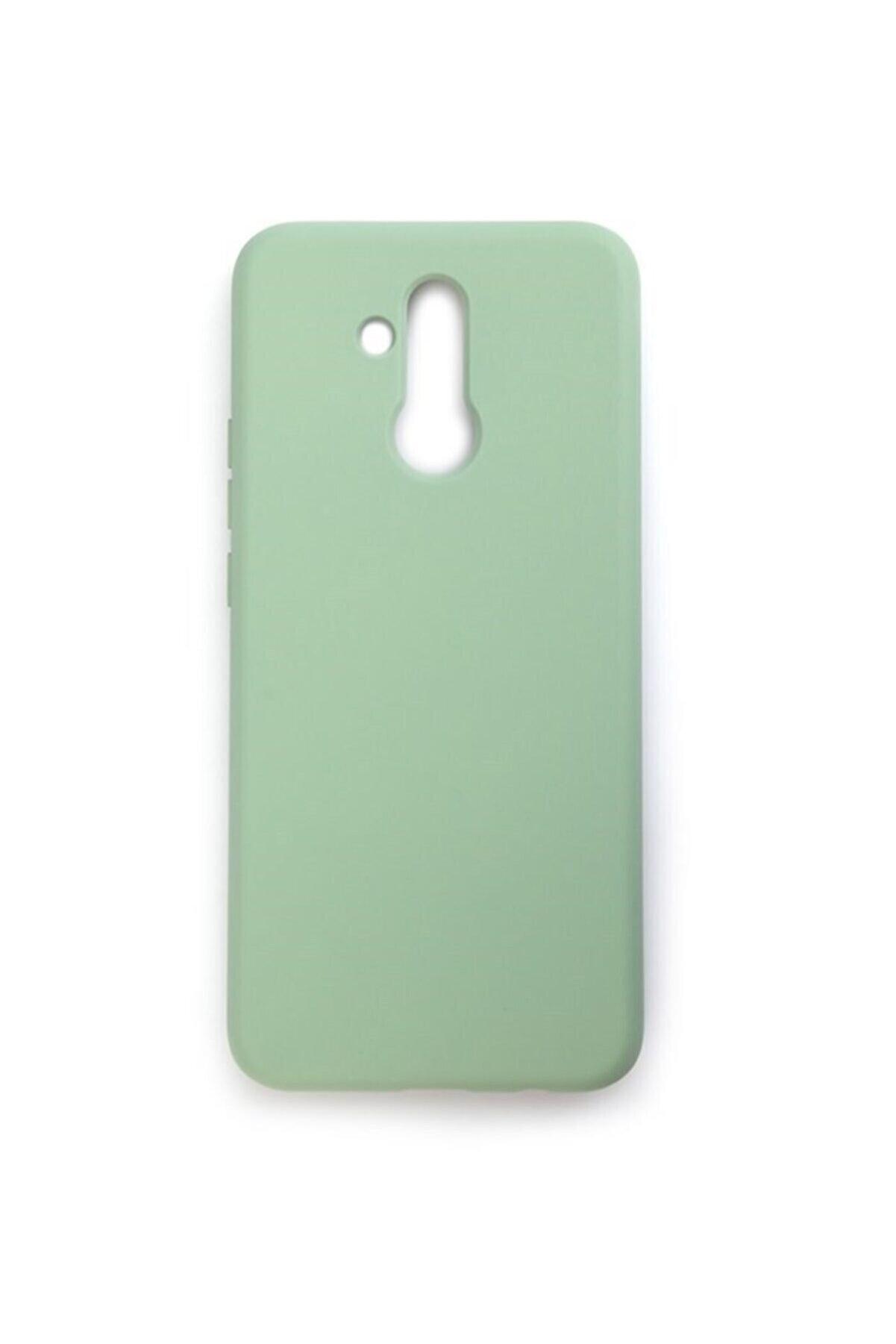 Mopal Huawei Mate 20 Lite  Uyumlu Cappy Silikon Renkli Kılıf