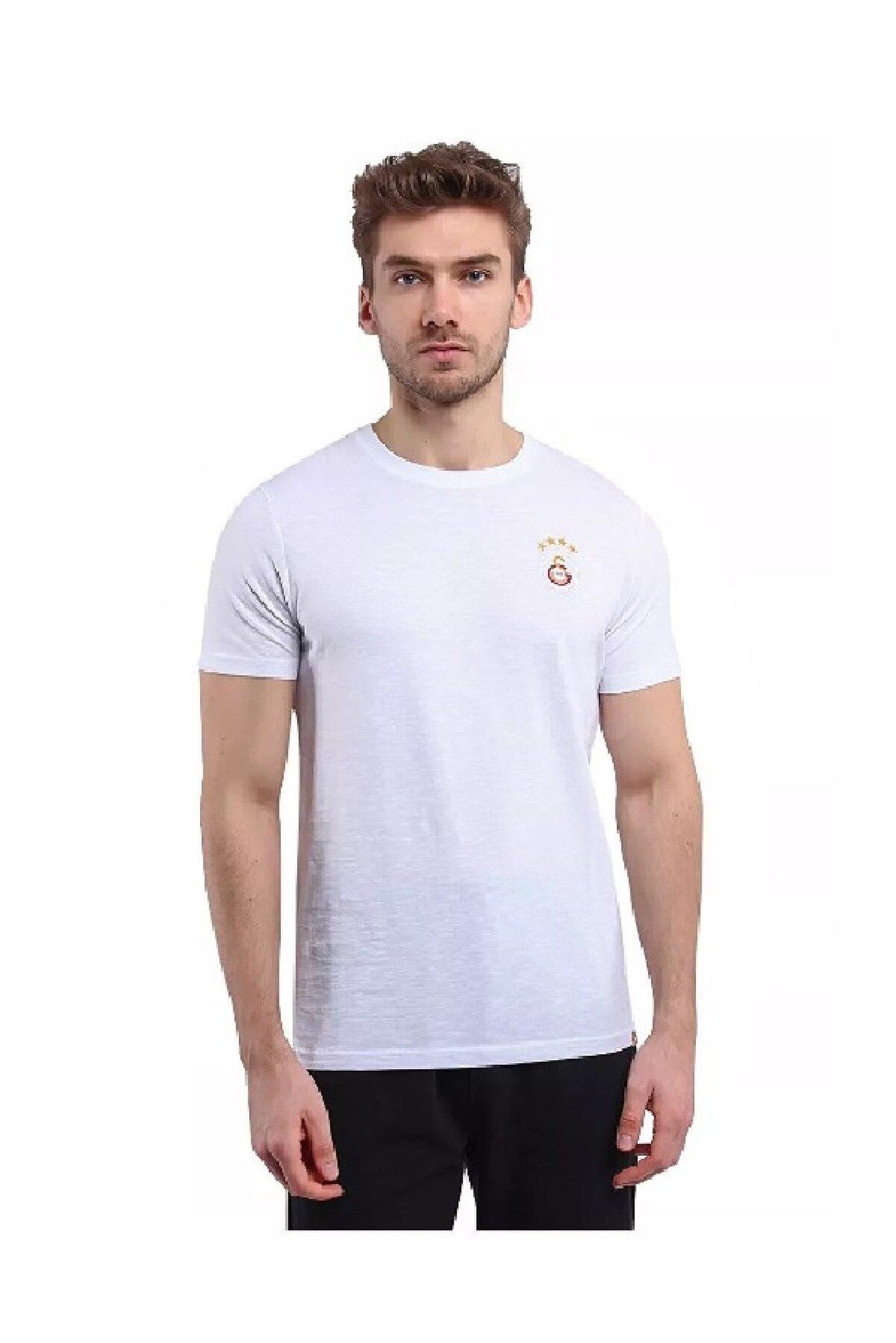 Galatasaray Erkek Spor T-shirt - E88045 O Yaka Tee