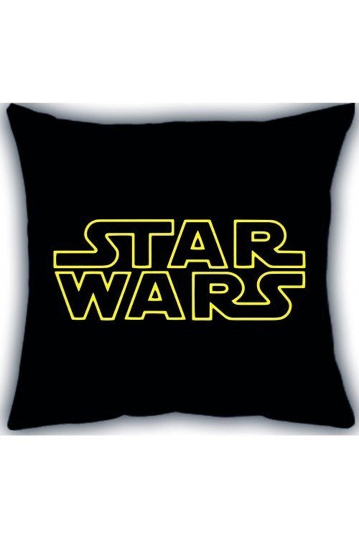HOBİPİX Star Wars Tasarımlı Baskılı Dekoratif Yastık