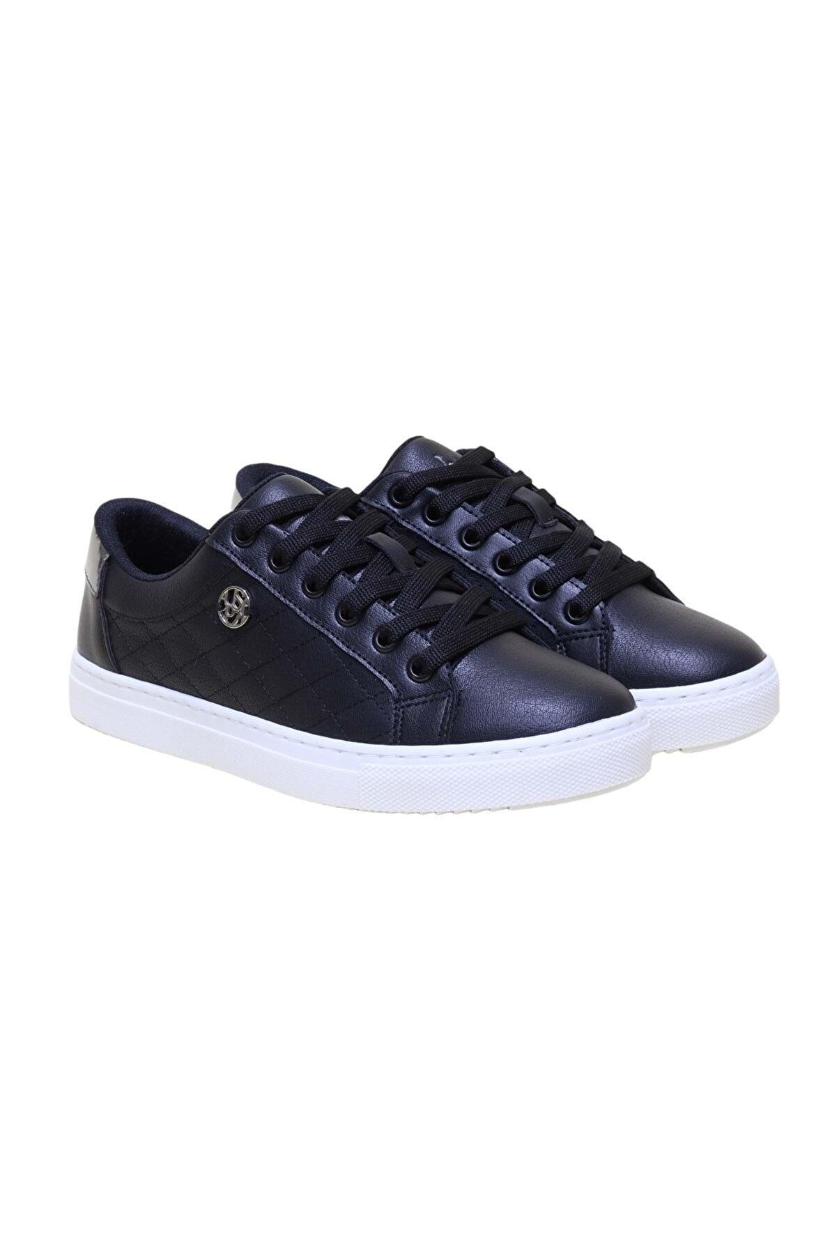 US Polo Assn Tıggy Ortopedic Sneakers Bayan Ayakkabı - Siyah - 40
