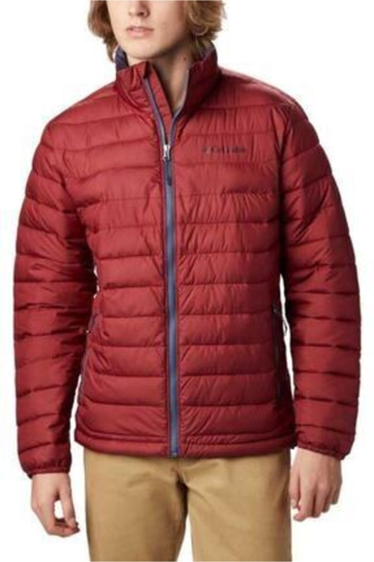 Columbia Erkek Kırmızı Powder Lite Jacket Mont Wo1111-664