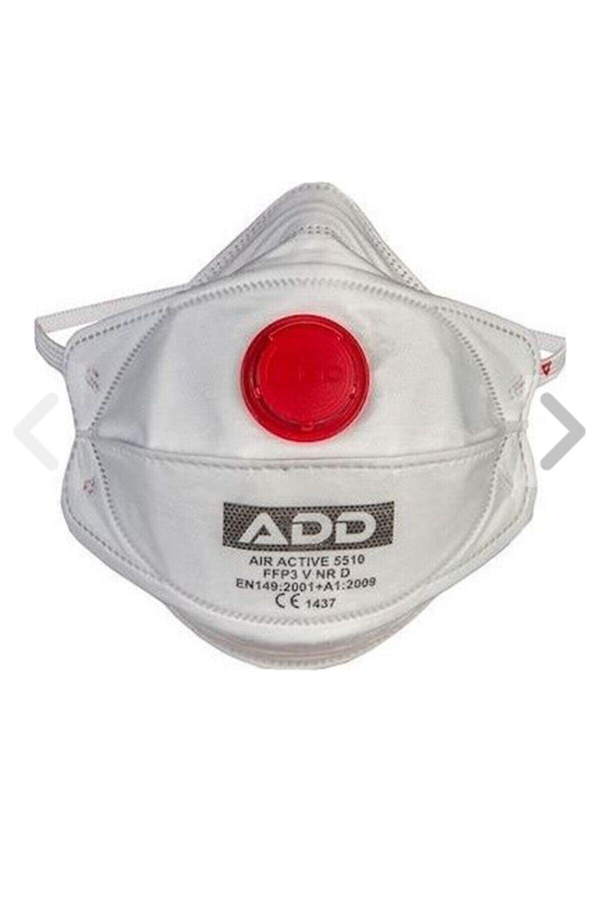 Add Air Active 5510 Ffp3 V Nr D Ventilli Maske