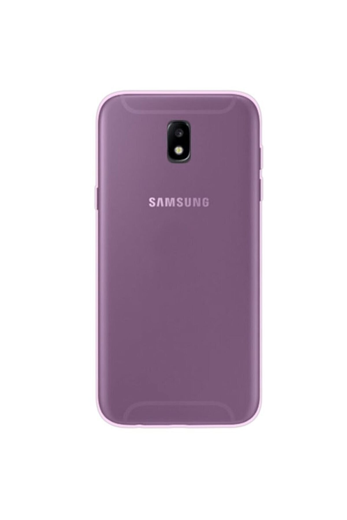 Samsung Nihcase Galaxy J3 Pro Thin Silicone Kılıf Pembe