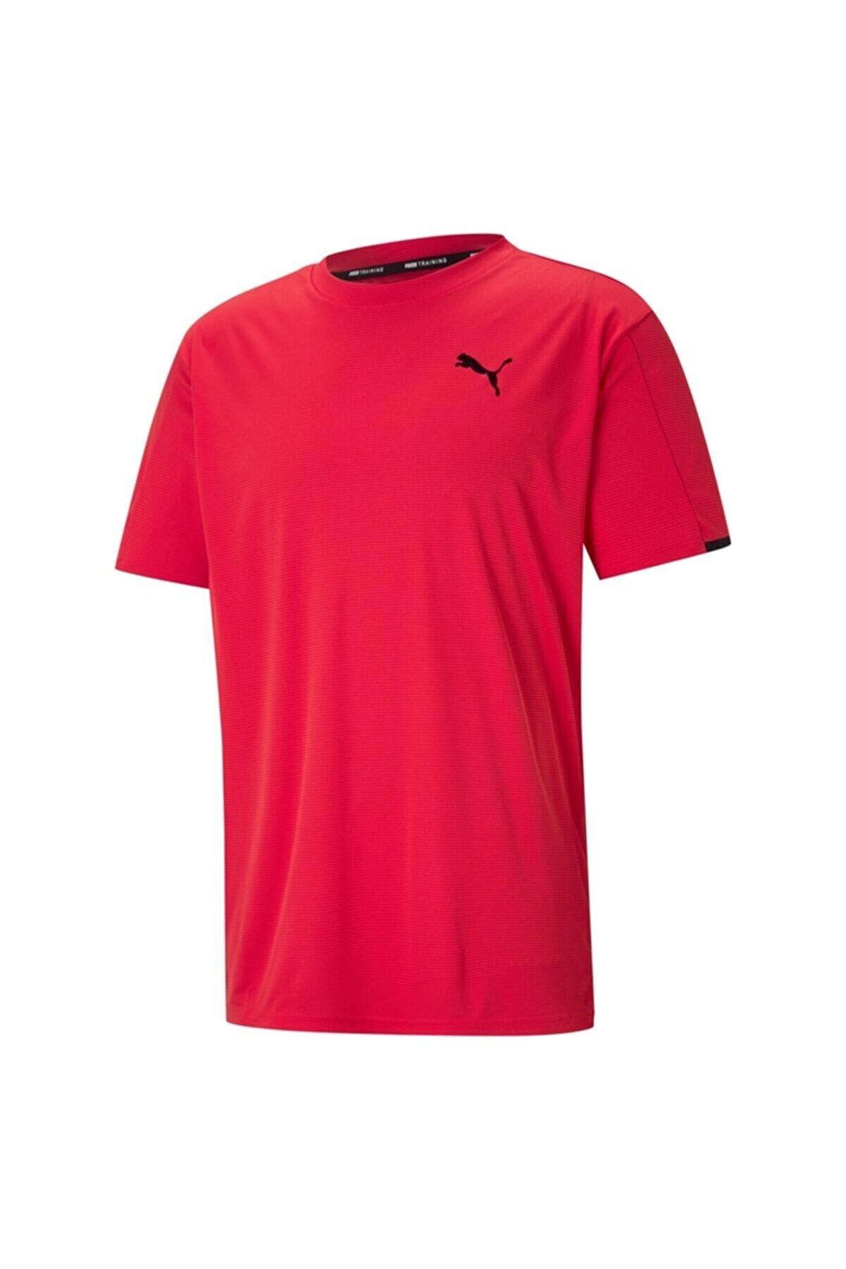 Puma Traın Graphıc Ss Tee Erkek Üst & T-shirt - 52011623