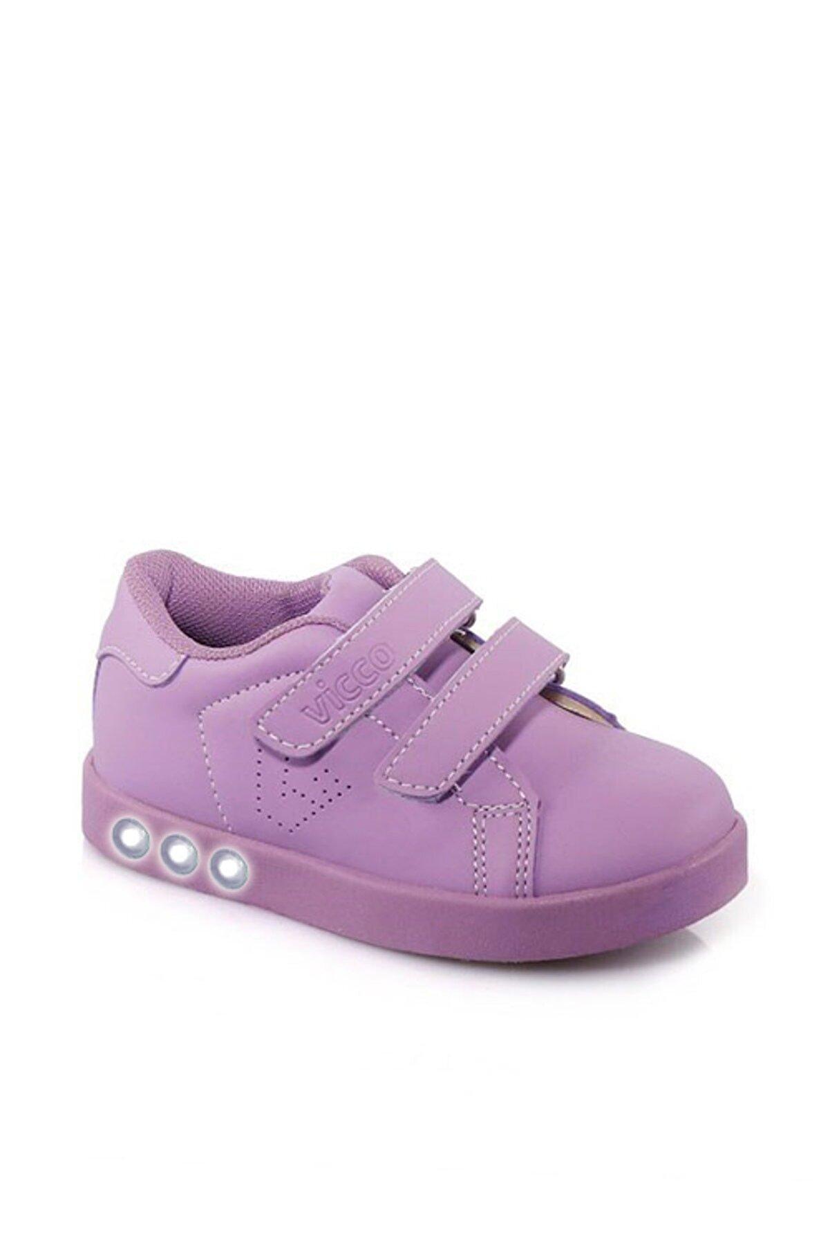 Vicco Oyo Işıklı Kız Bebe Lila Spor Ayakkabı