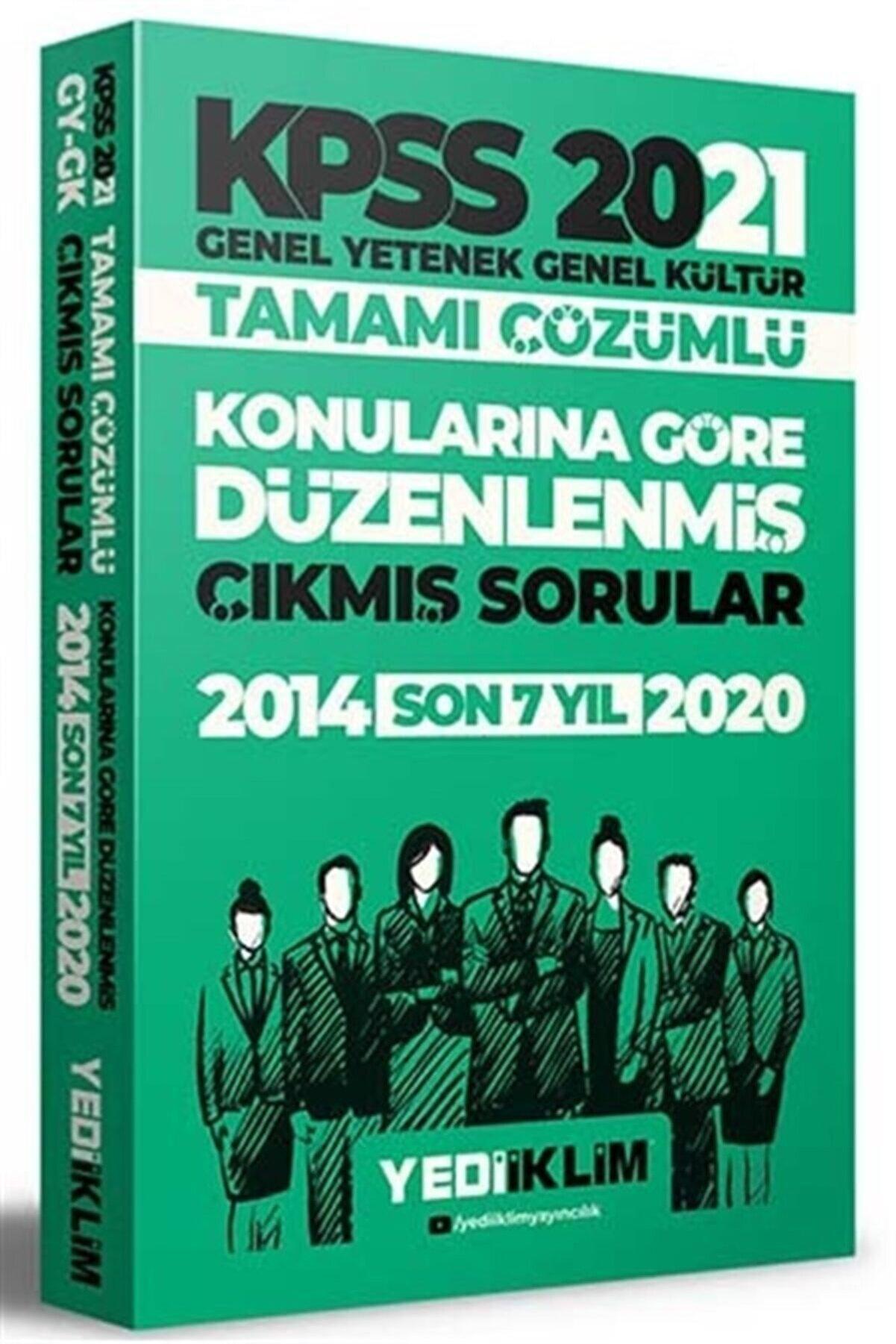 Yediiklim Yayınları 2021 Kpss Lisans Çözümlü Çıkmış Soruları