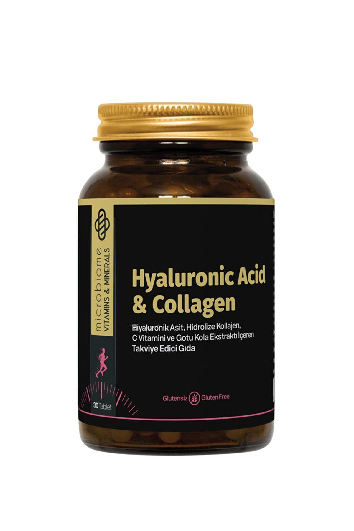 Microbiome Collagen & Hyaluronıc Acid 30 Tablet