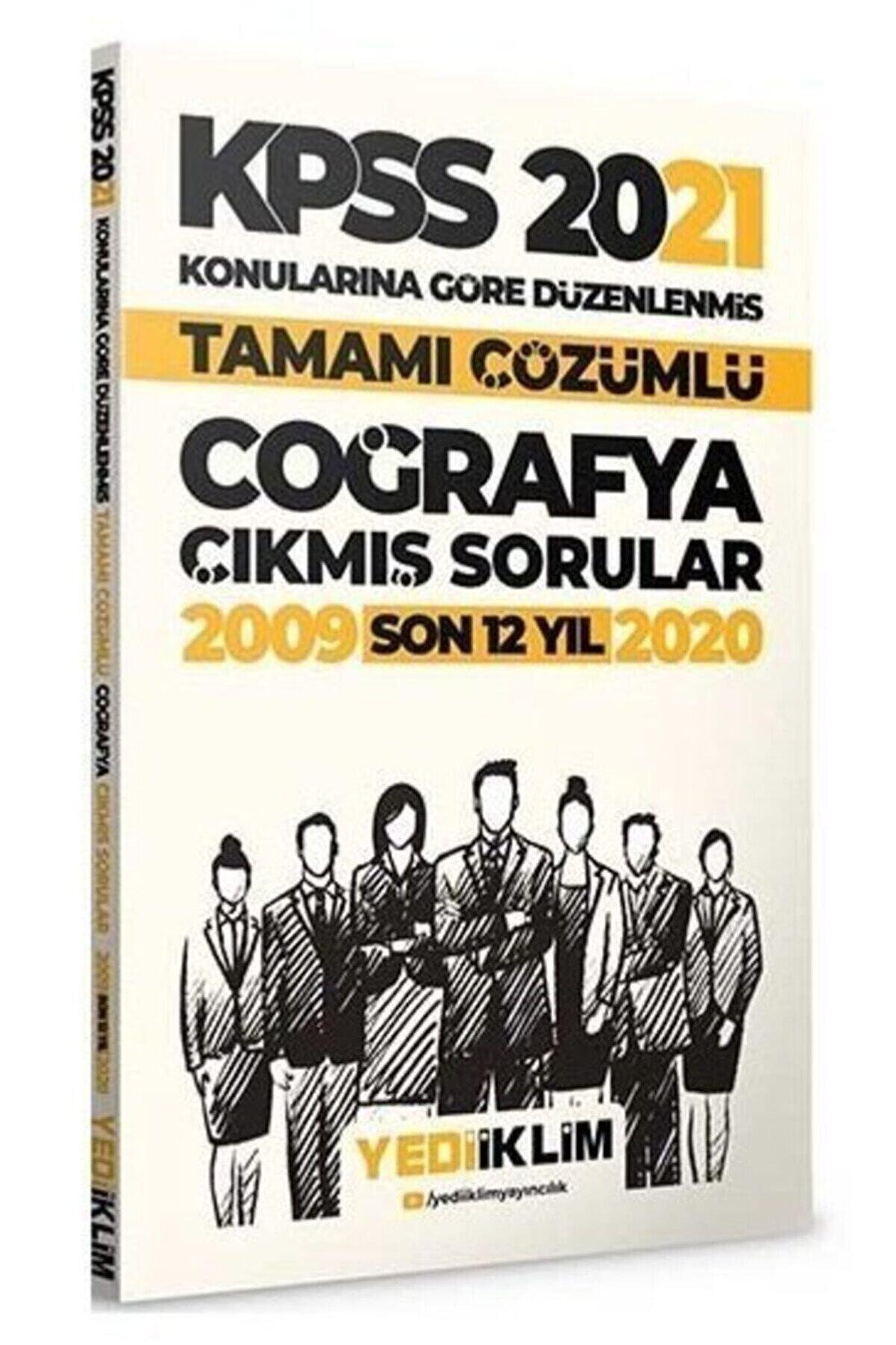 Yediiklim Yayınları 2021 Kpss Coğrafya Çıkmış Sorular Konularına Göre Çözümlü