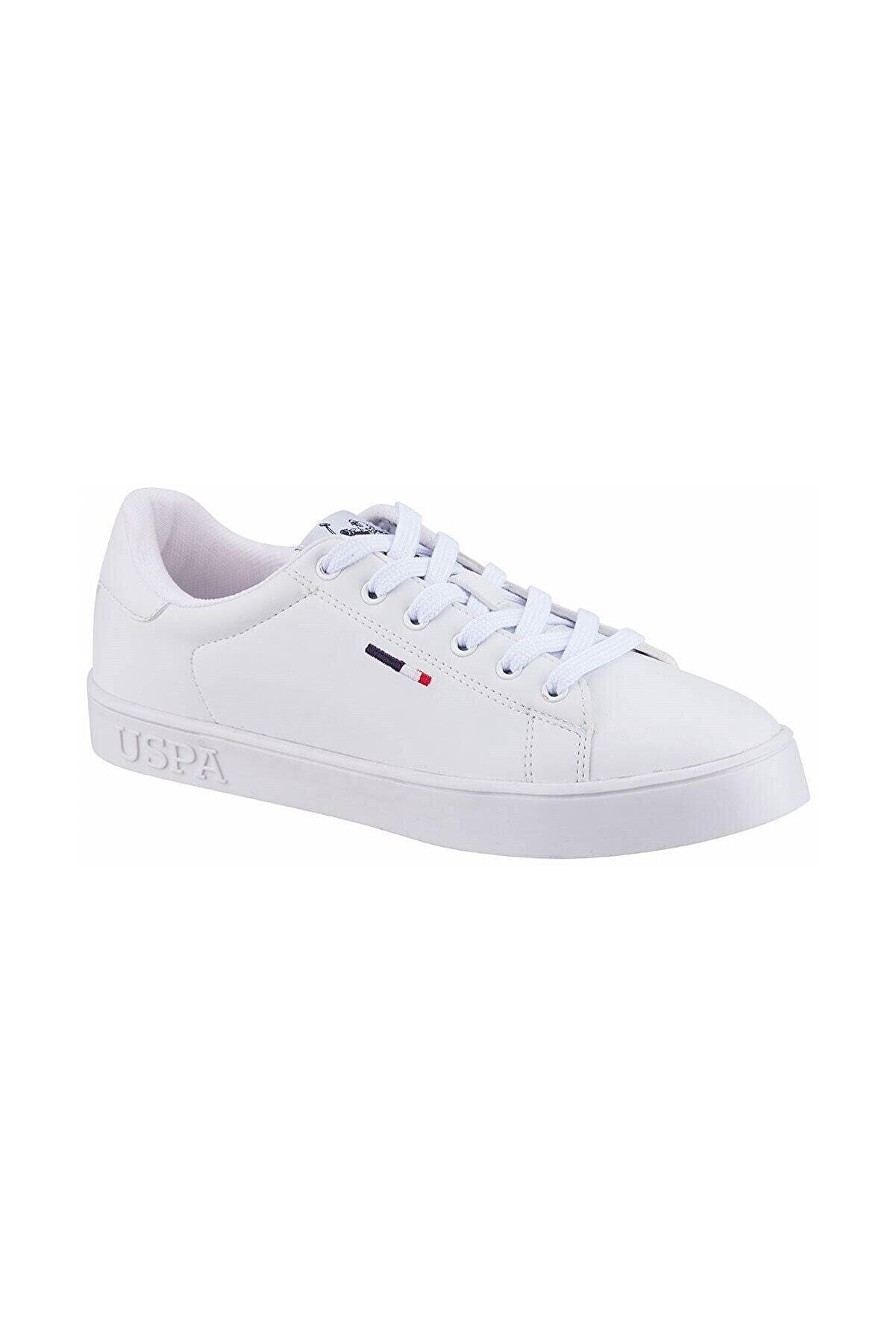 US Polo Assn As00582456 100696330 Flex 1fx Kadın Spor Ayakkabı Beyaz