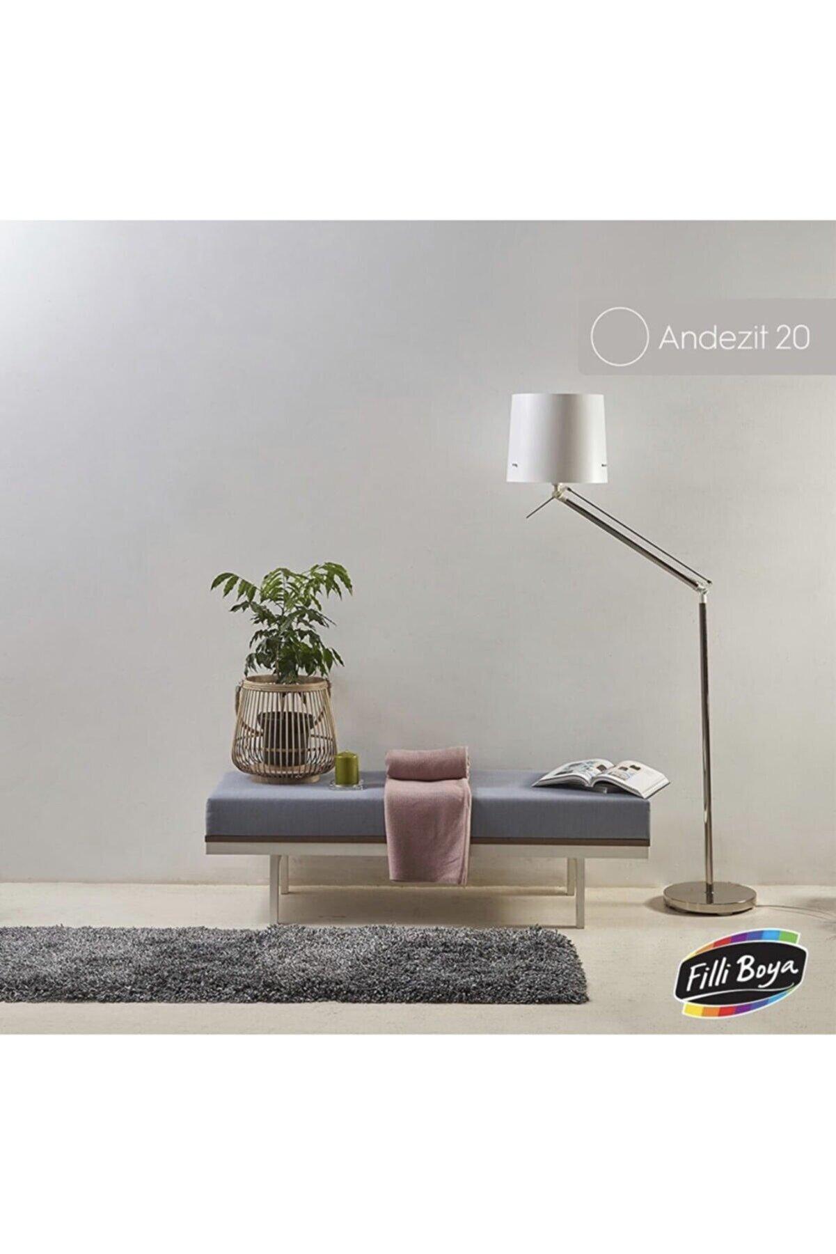 Filli Boya Momento Max 2.5lt Renk: Andezit20 Soft Mat Tam Silinebilir Iç Cephe Boyası